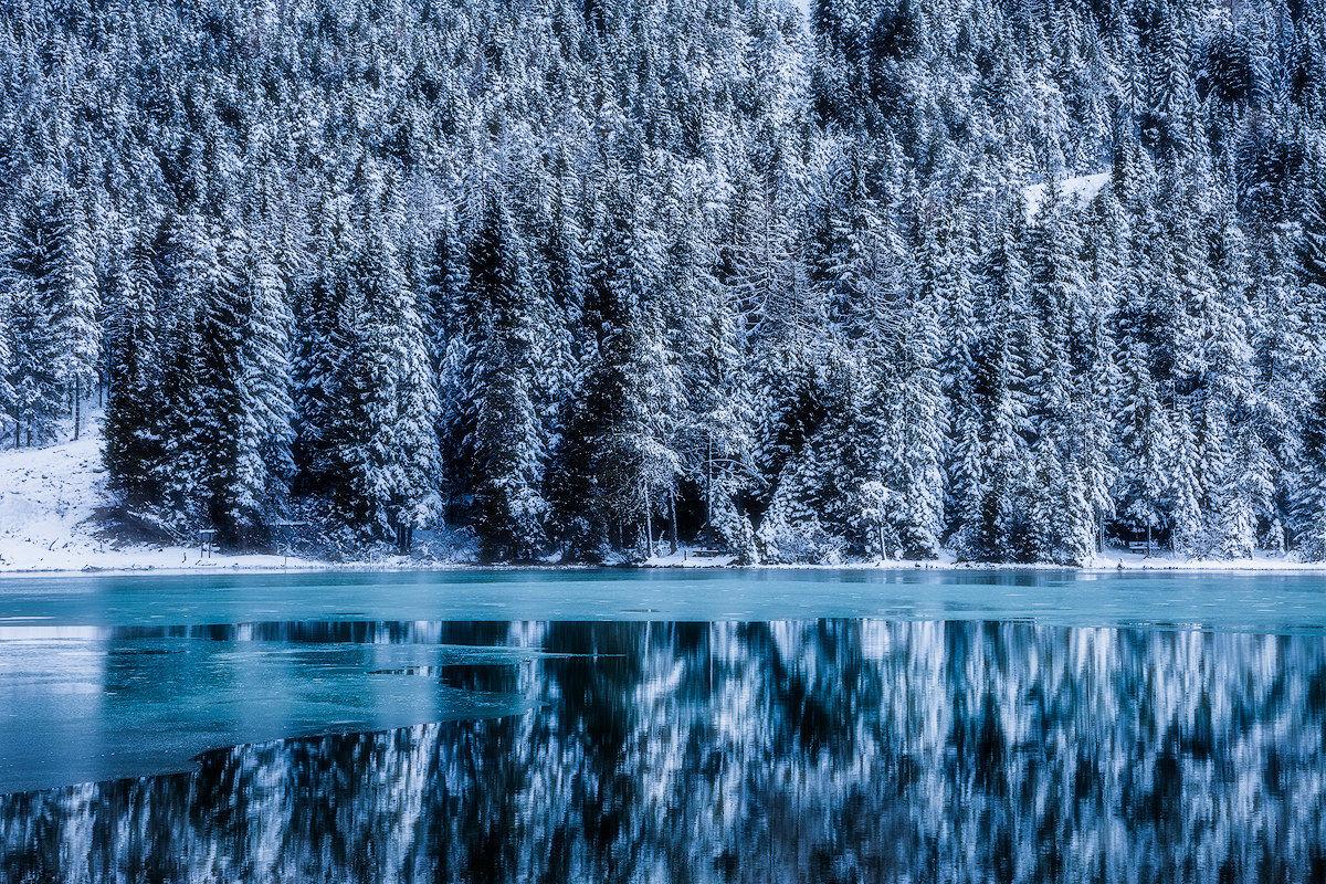 Quel lago ghiacciato...