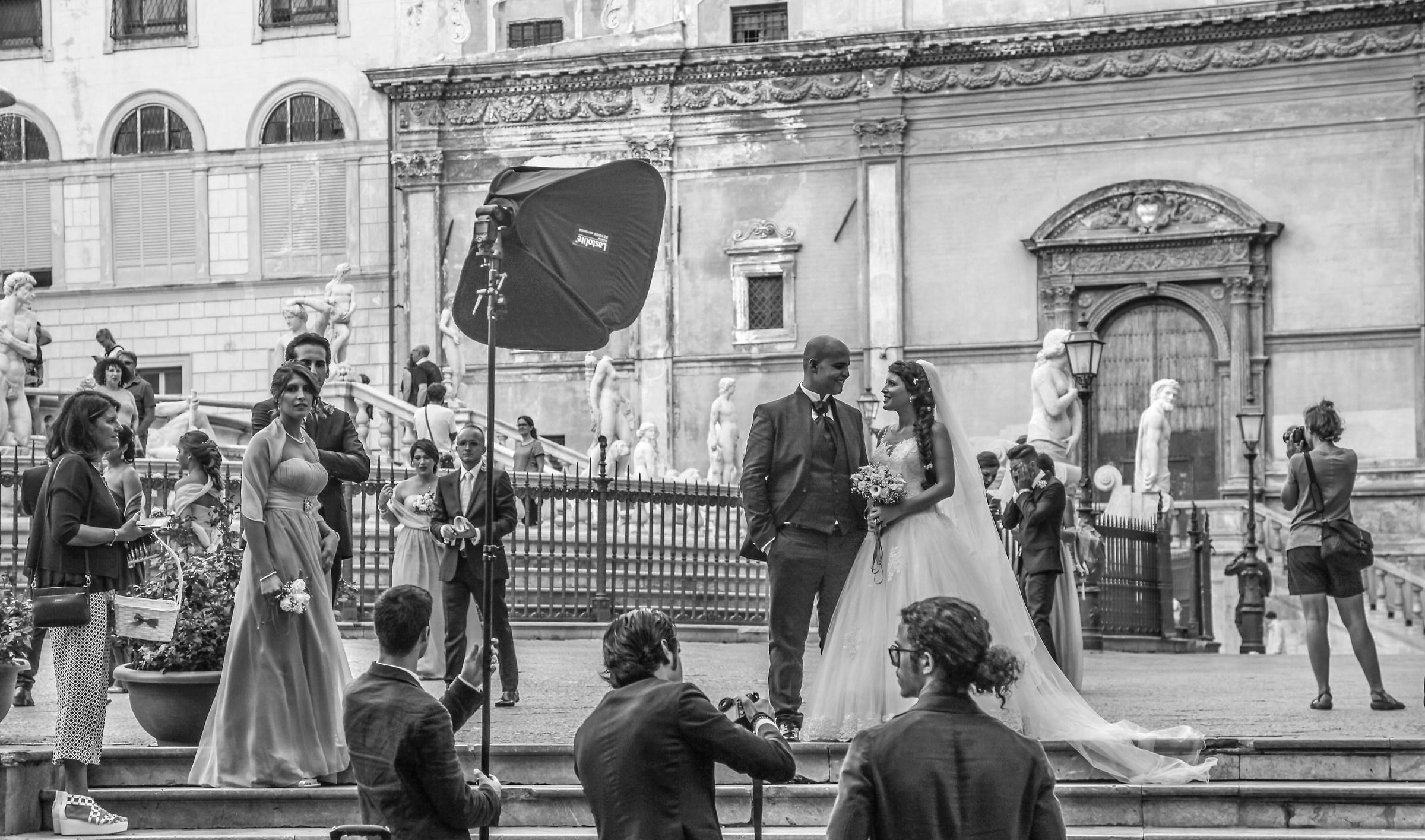 Italian wedding...