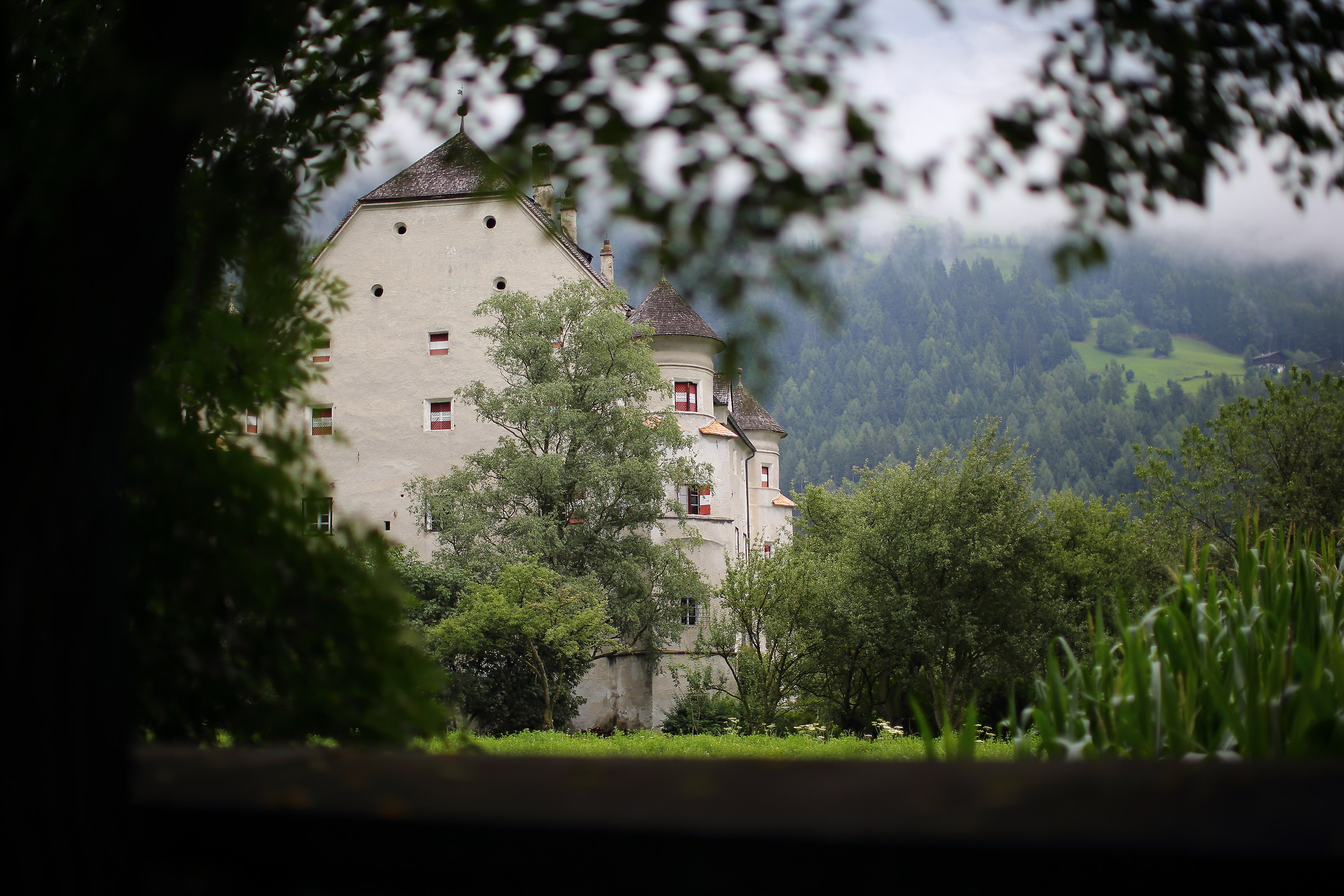 Castle in Campo Tures...