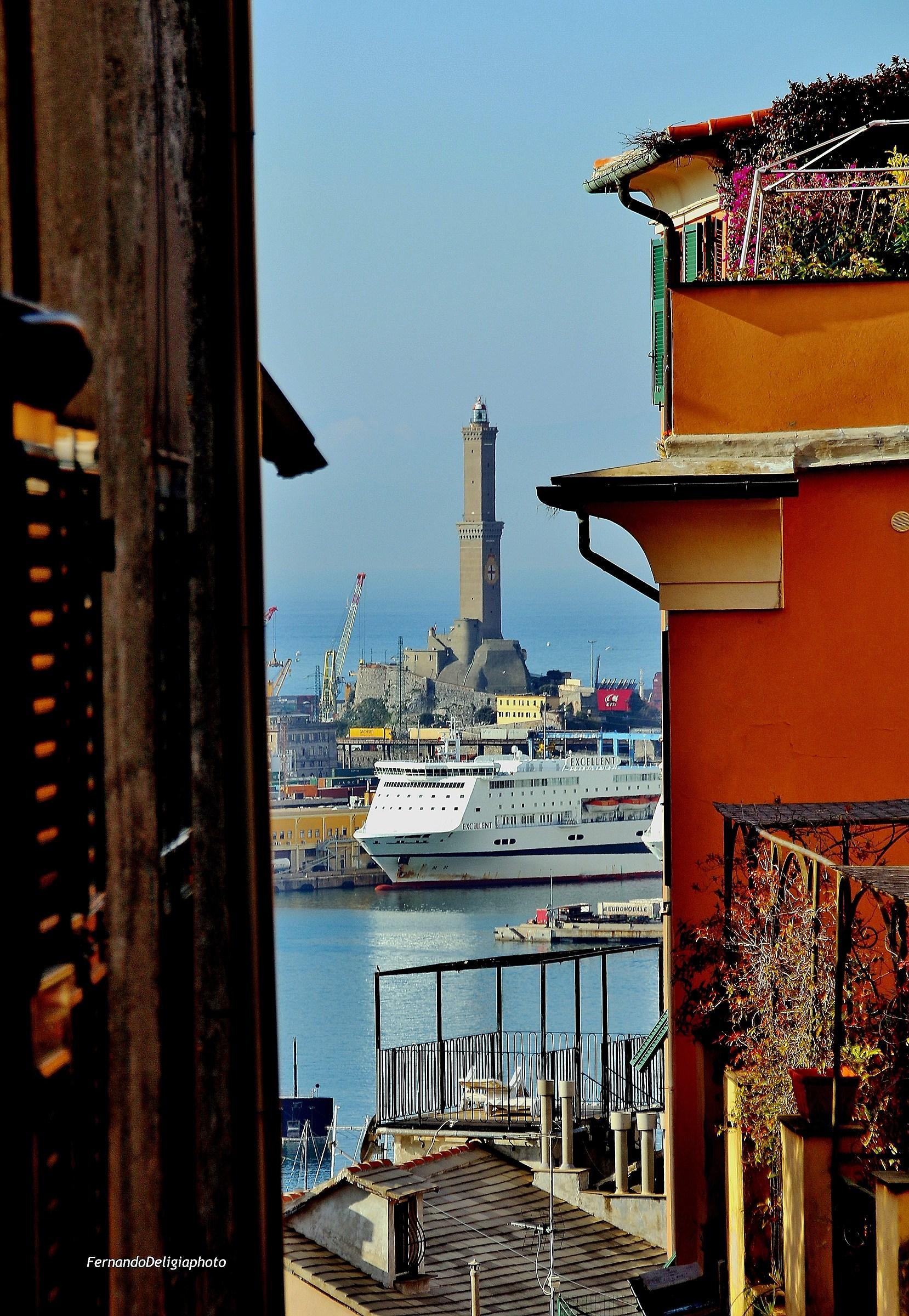 Glimpse of Genoa...