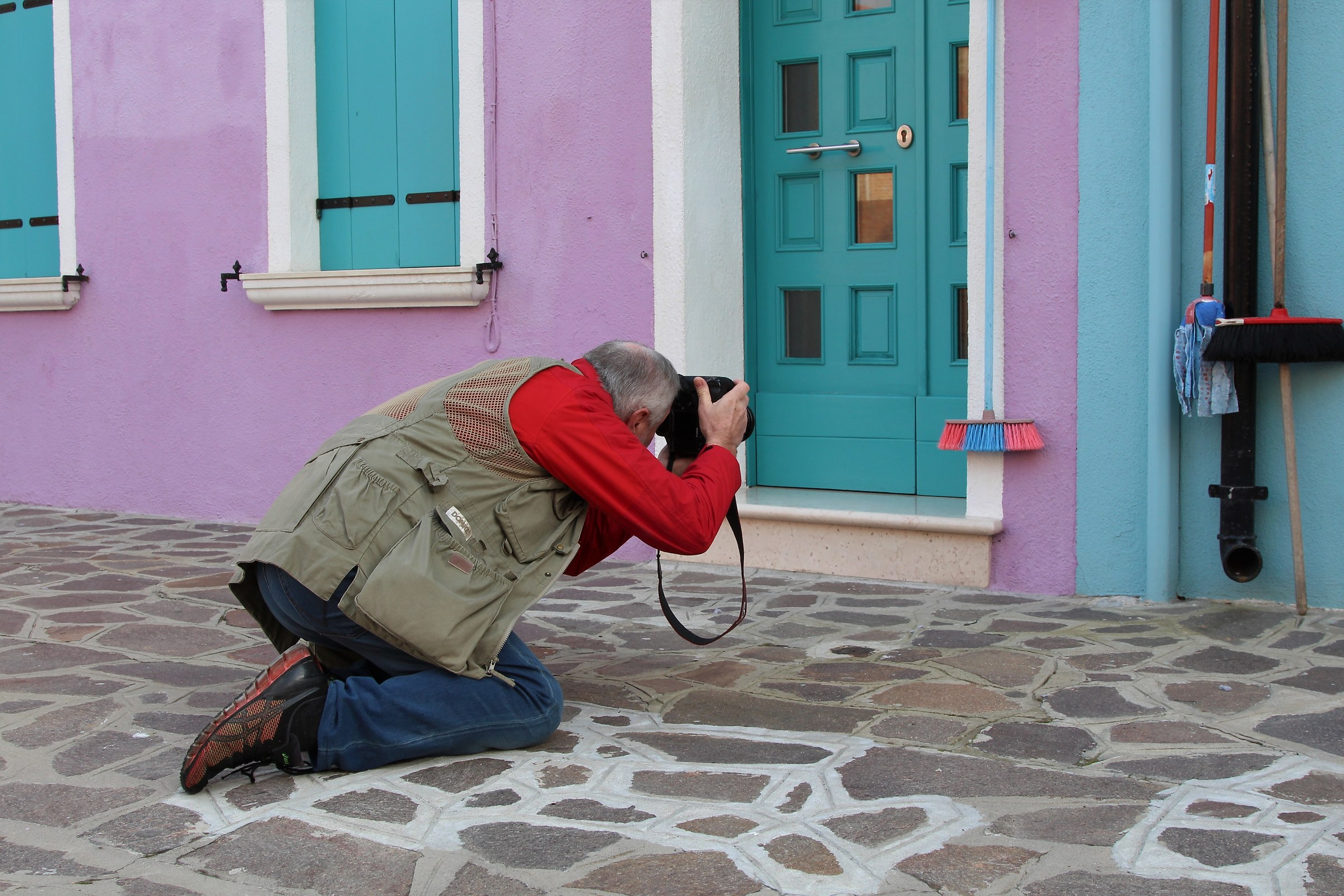 In Burano, everything is photographed...