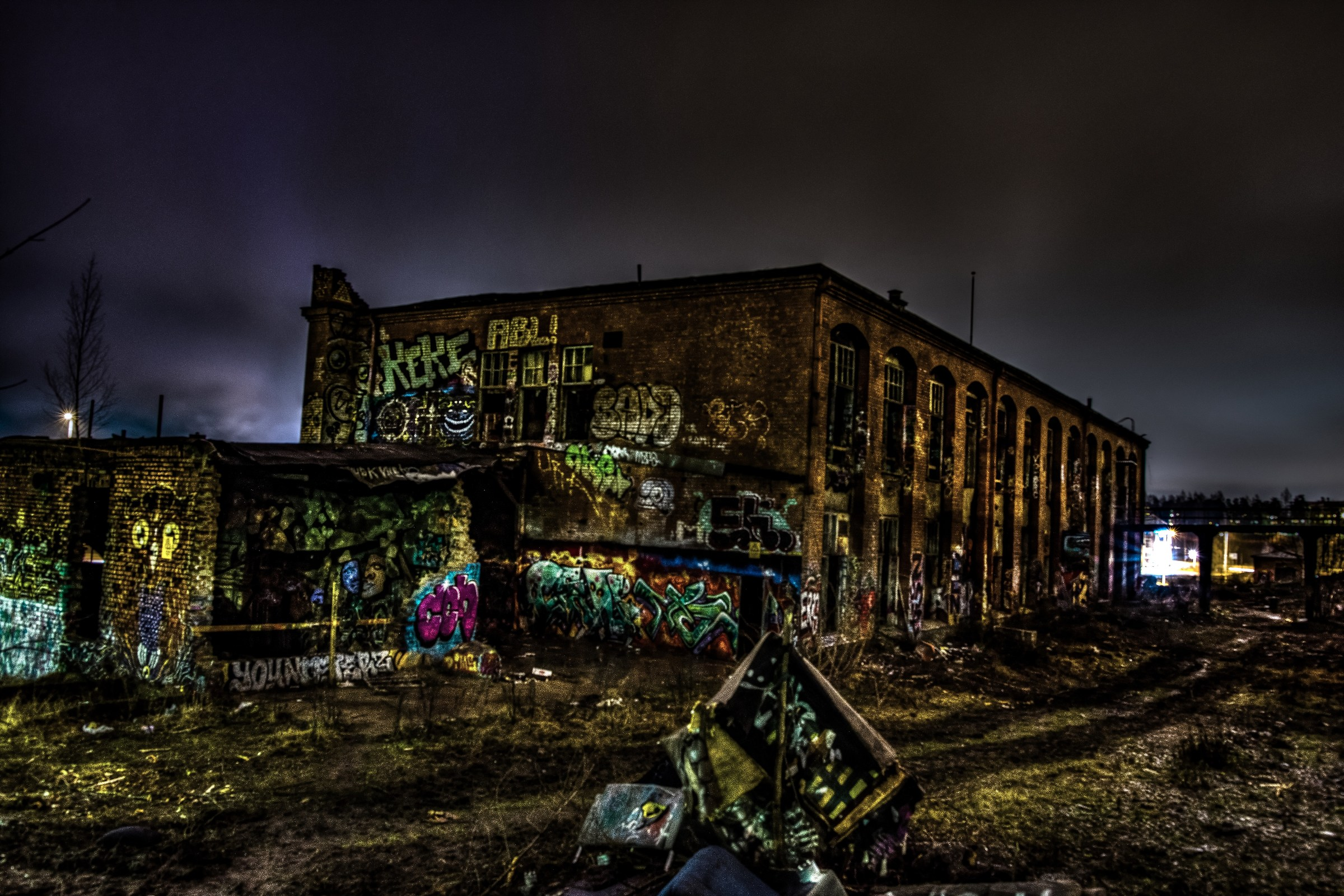 Old factory...