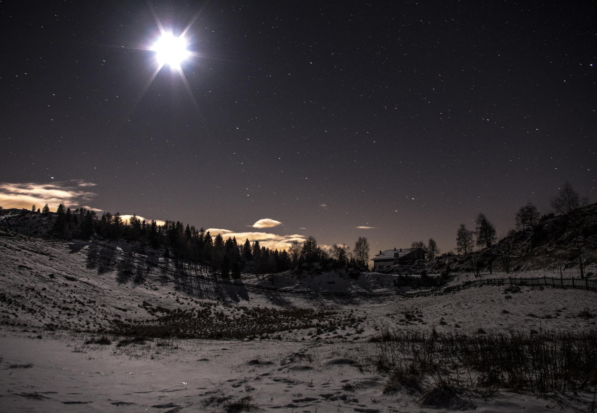 Il Visentin al chiaro di luna...