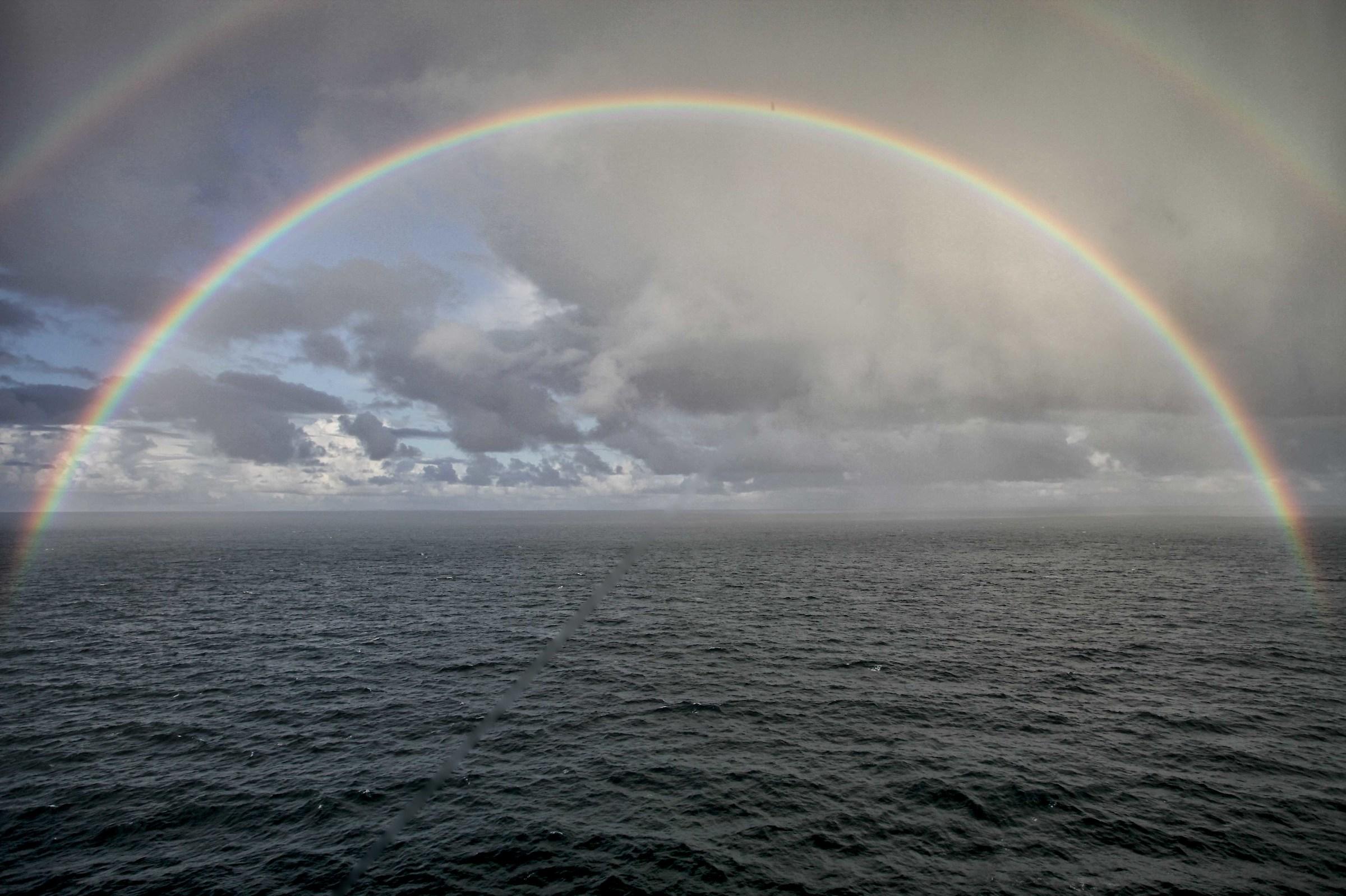 Norway - Arcoblaneno ciecolare taken from the ship...