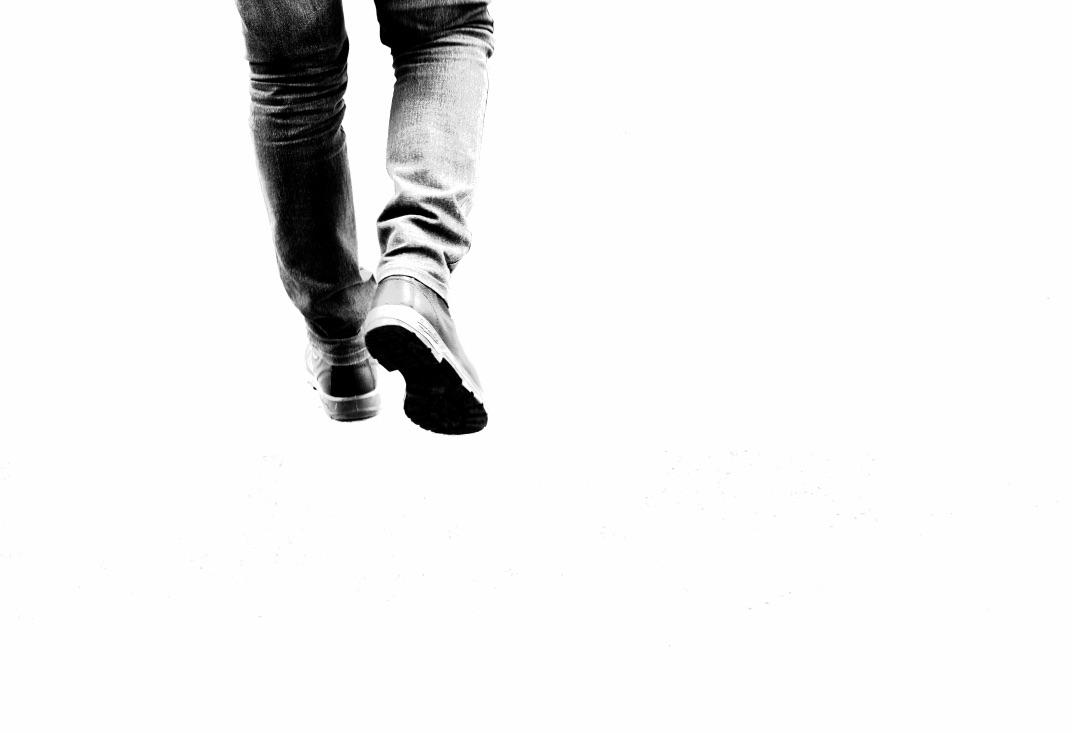 walk on nothing...
