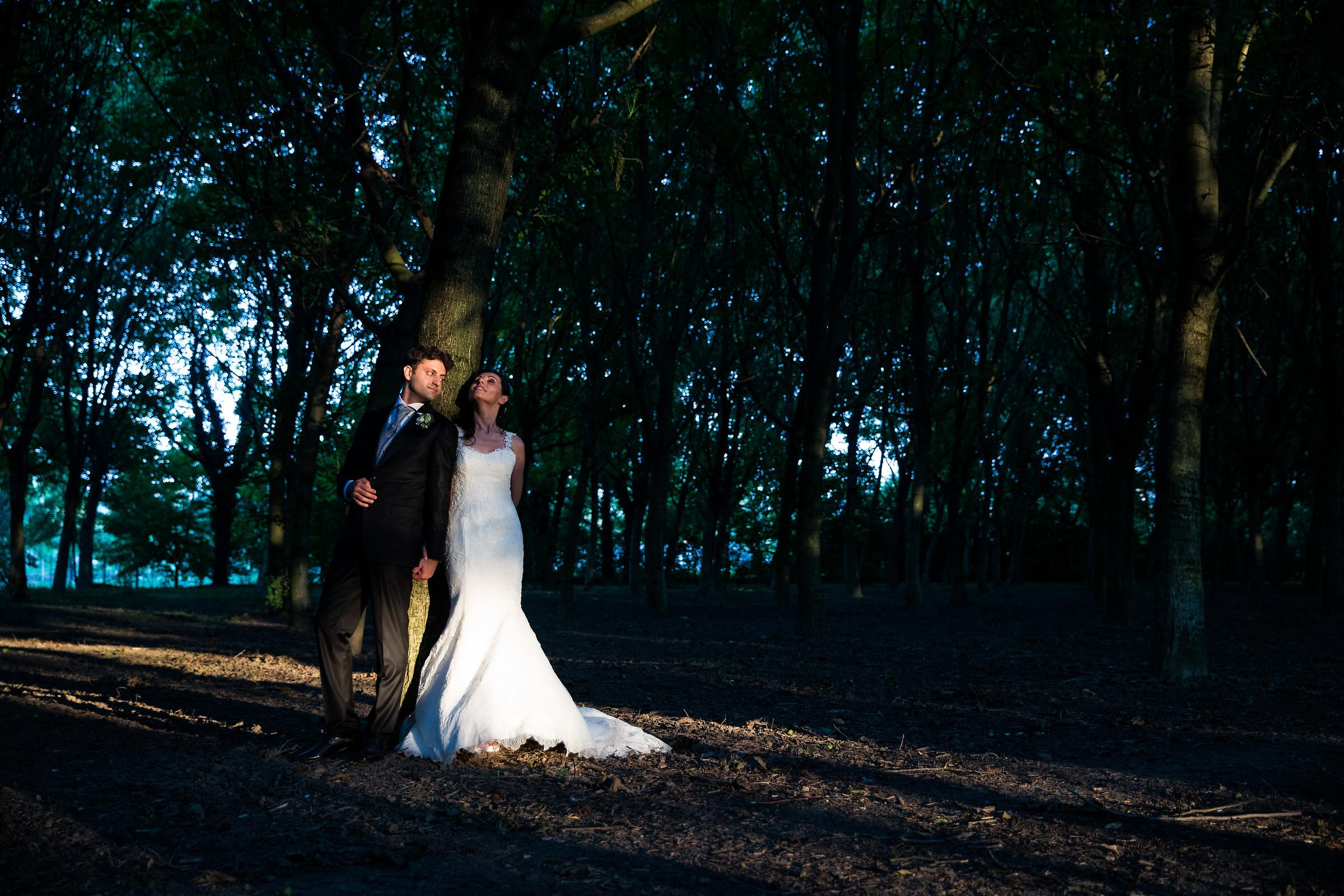 Wedding in Forest...