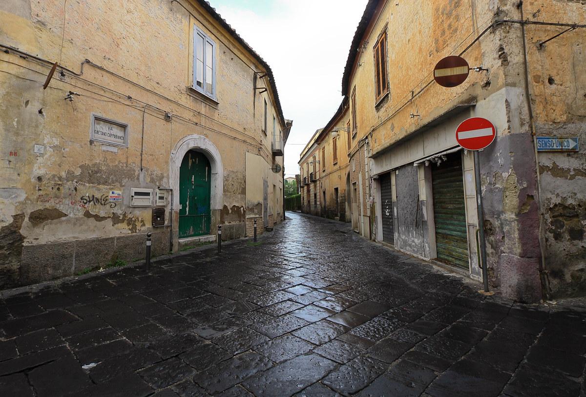 Via Cappabianca, home of Errico Malatesta...