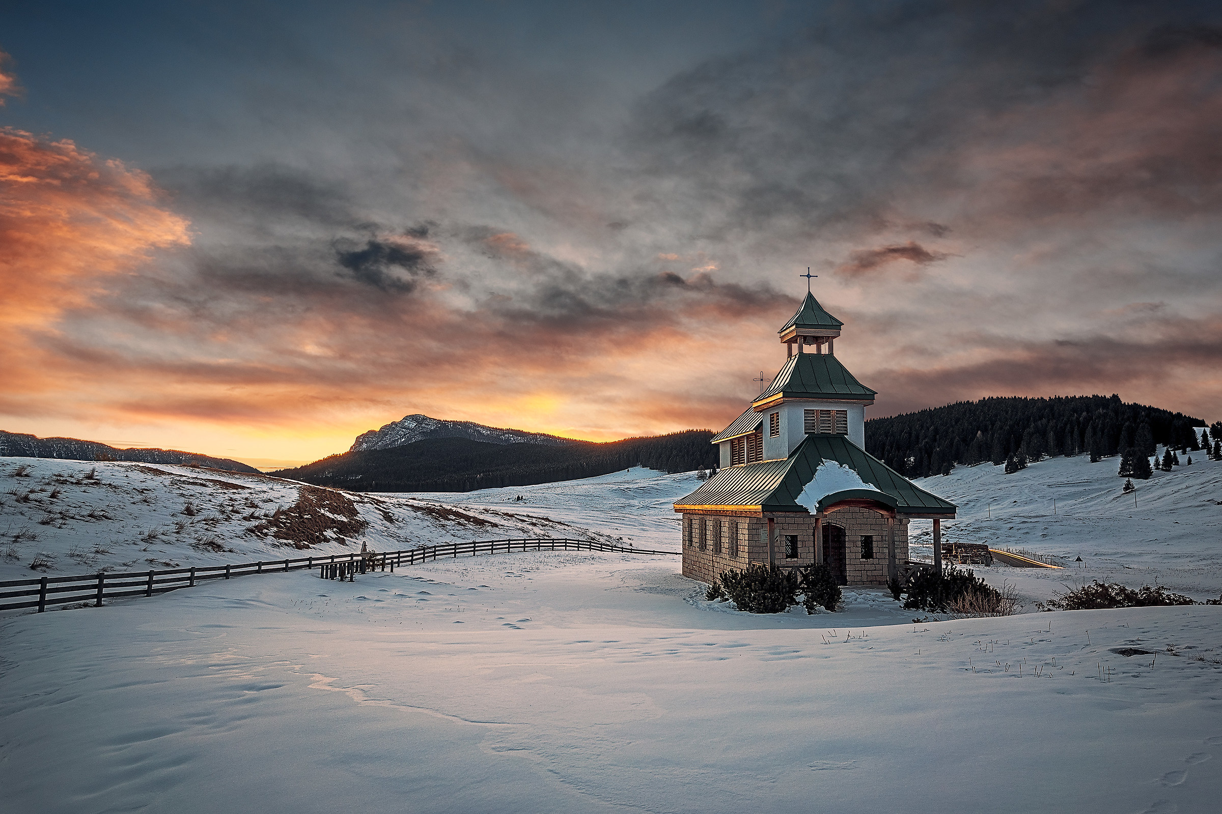 Frozen Church...