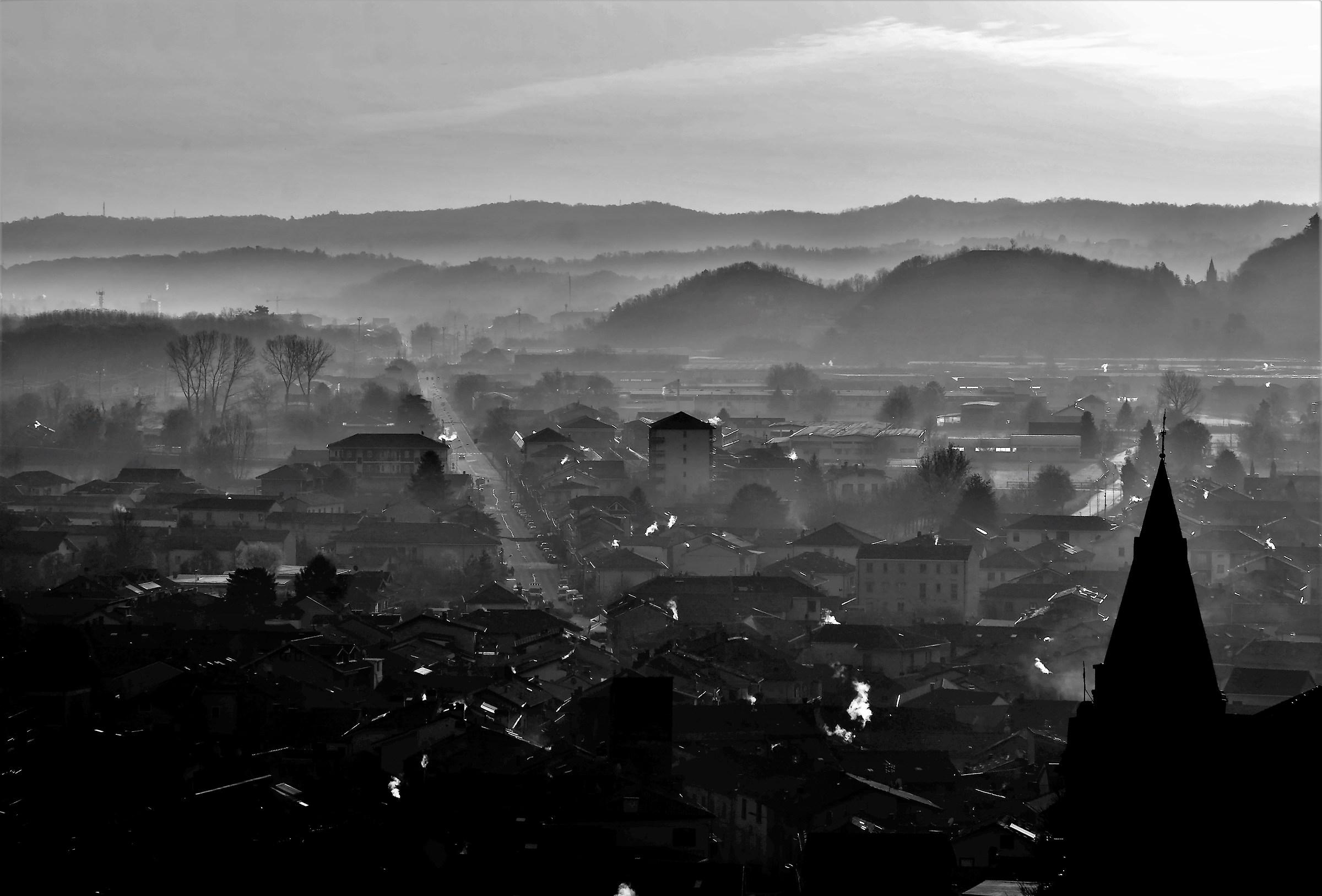 view of Sant'Ambrogio valle di Susa...