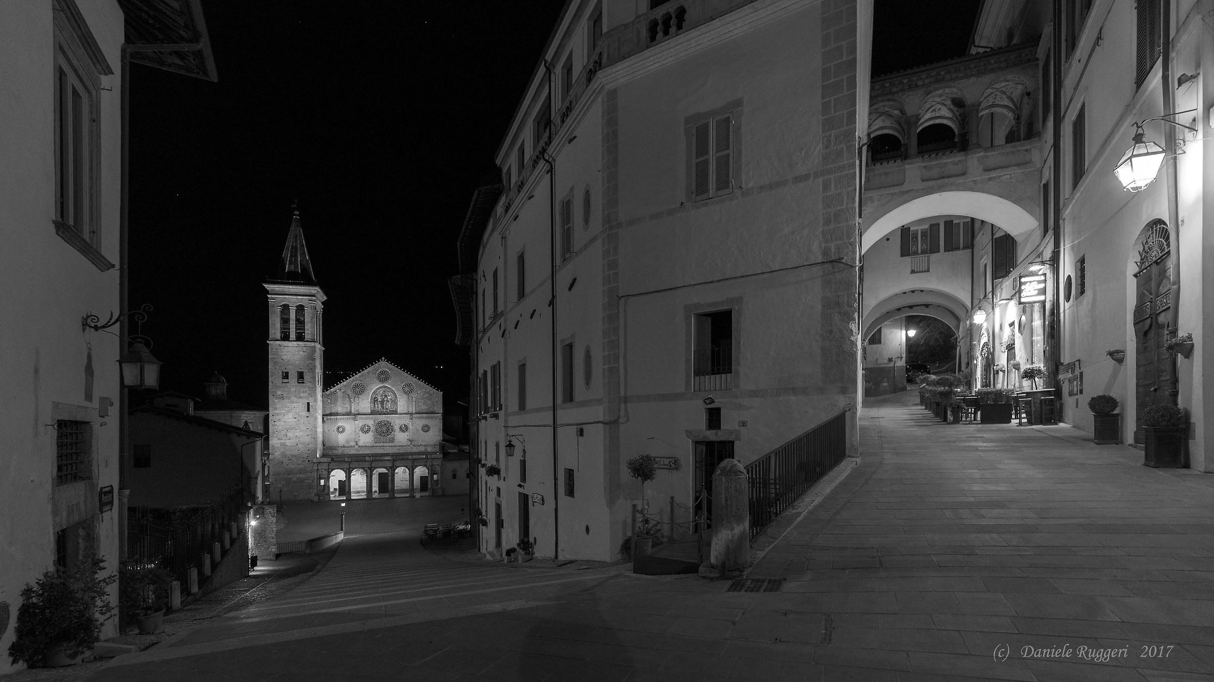 The Bivio di Spoleto...