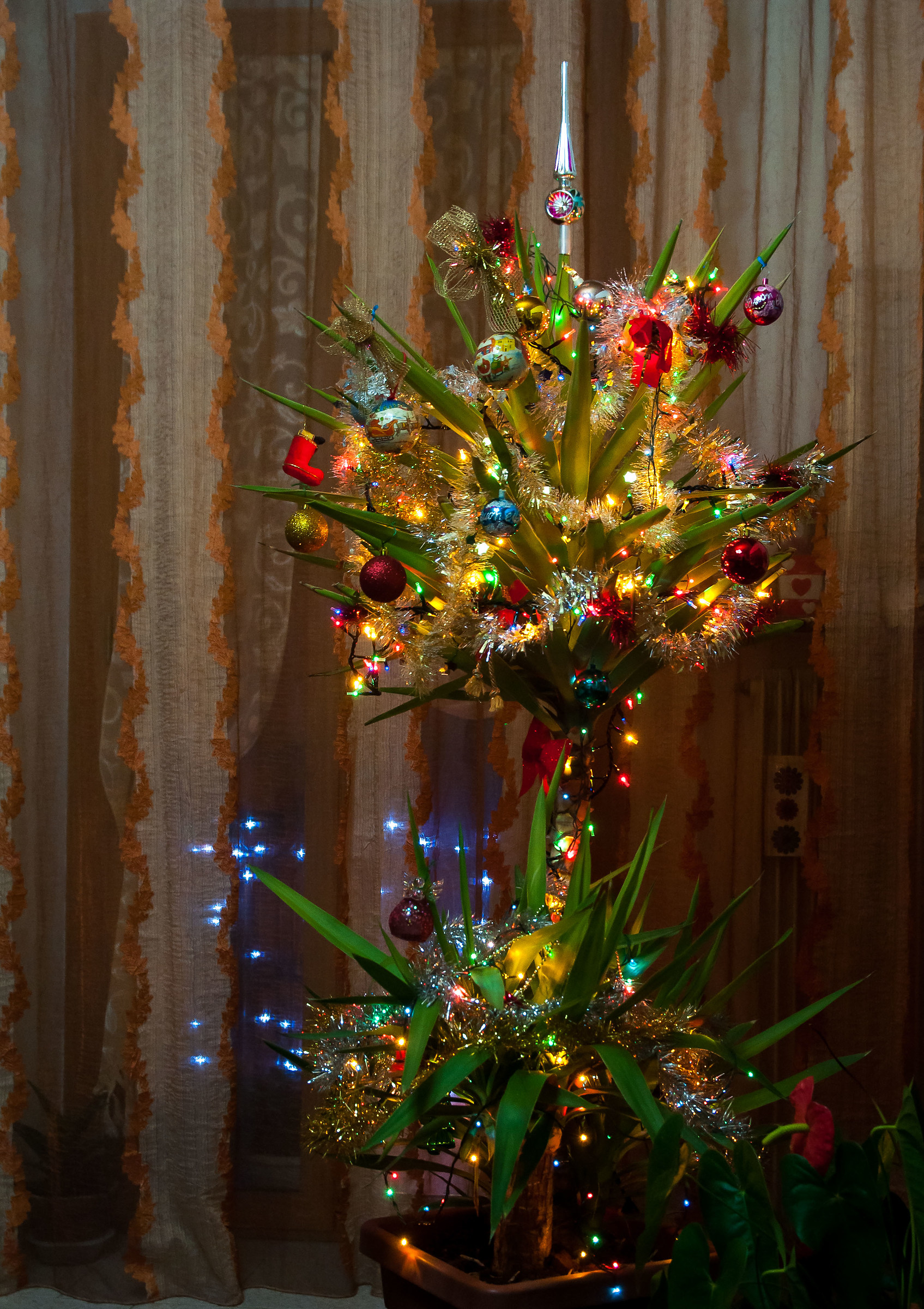 """A """"Differently Christmas tree""""..."""