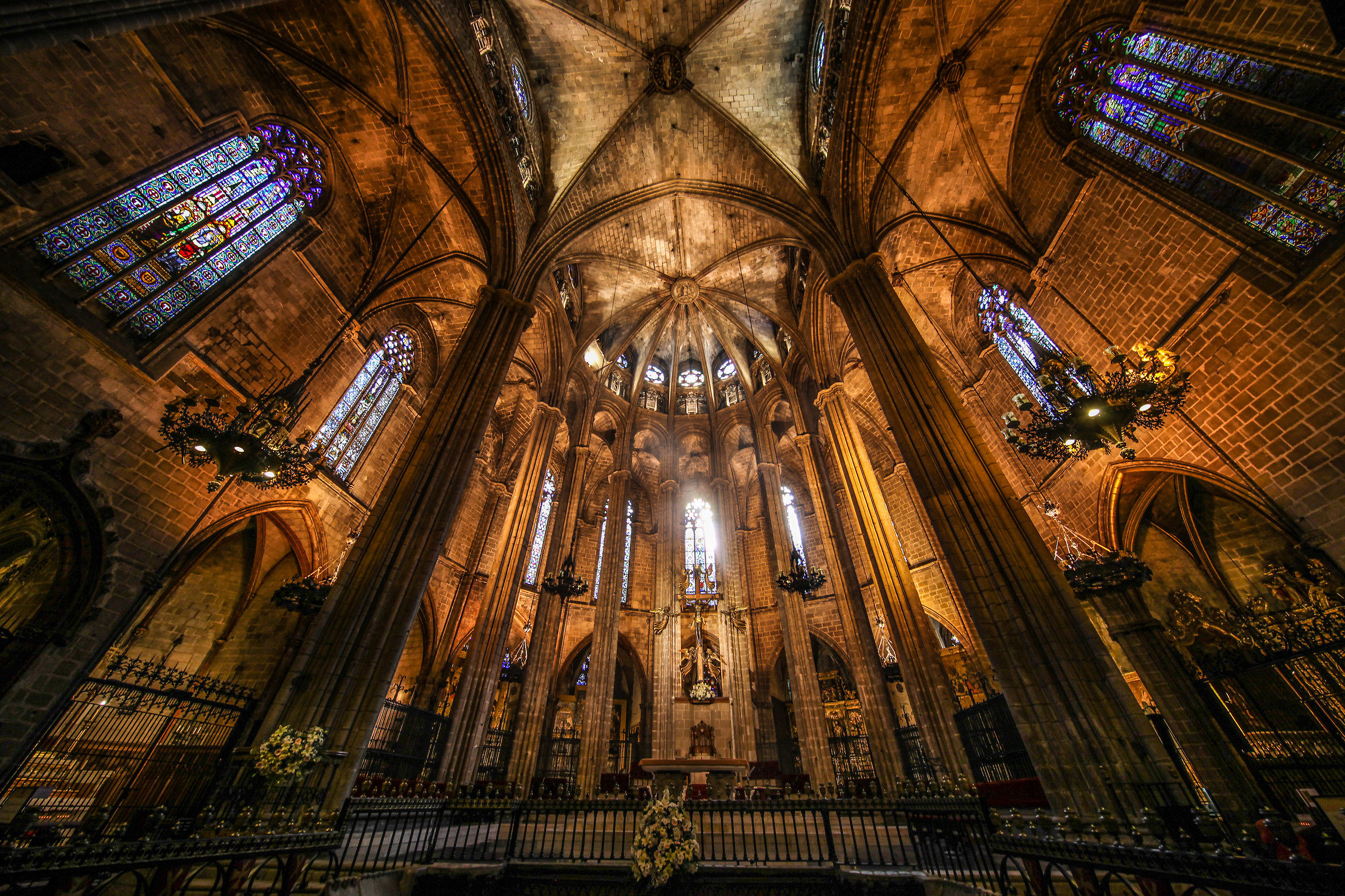 Cathedral of Barcelona...