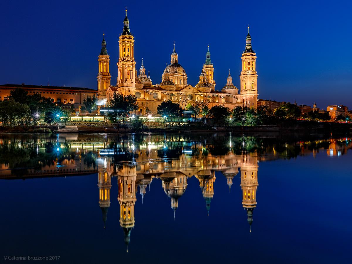 Zaragoza in Blue...