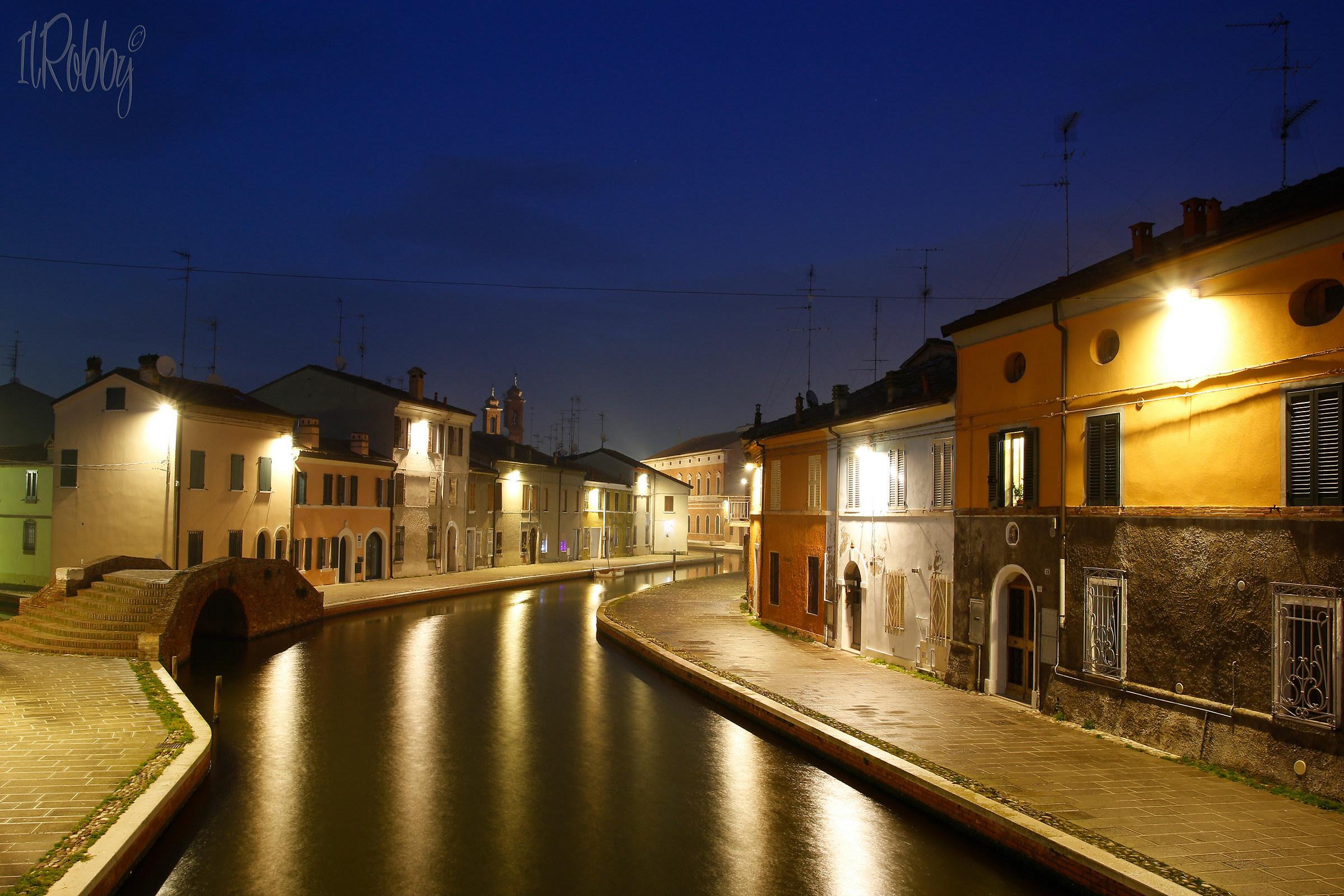 Blue hour in Comacchio...