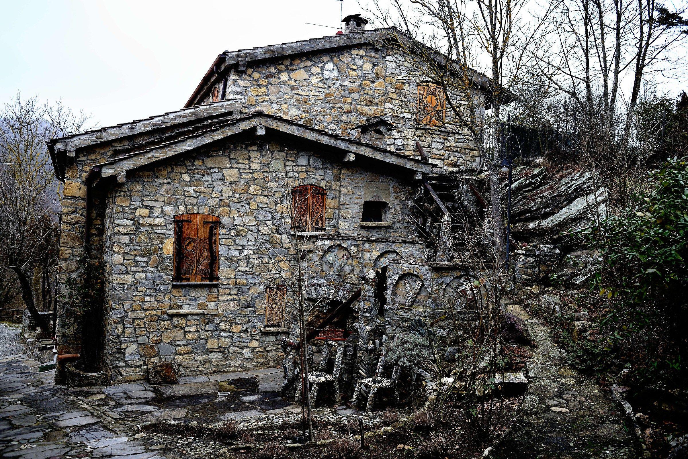La casa di Brugnello...