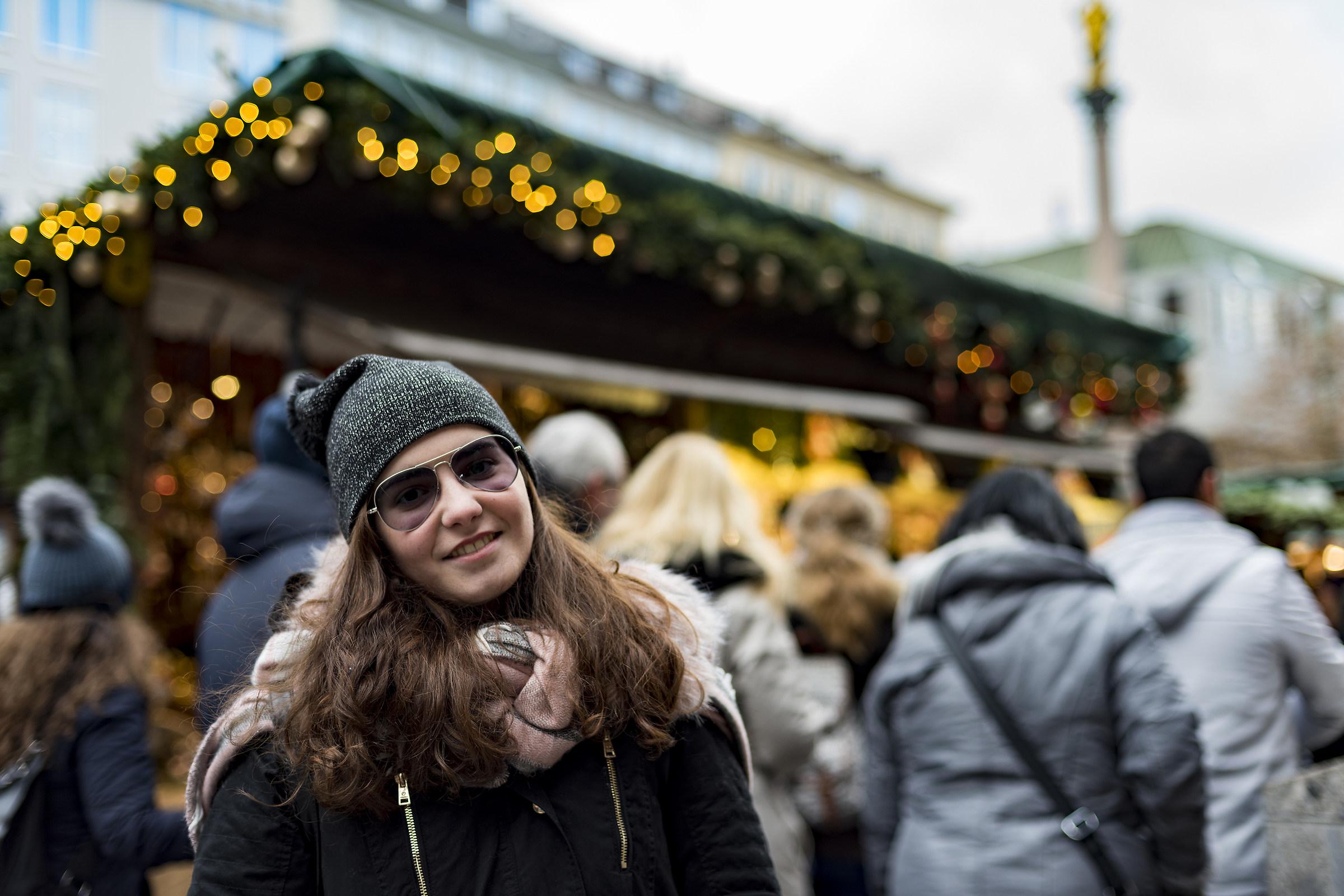 Celeste, München Marienplatz Dec 2017...
