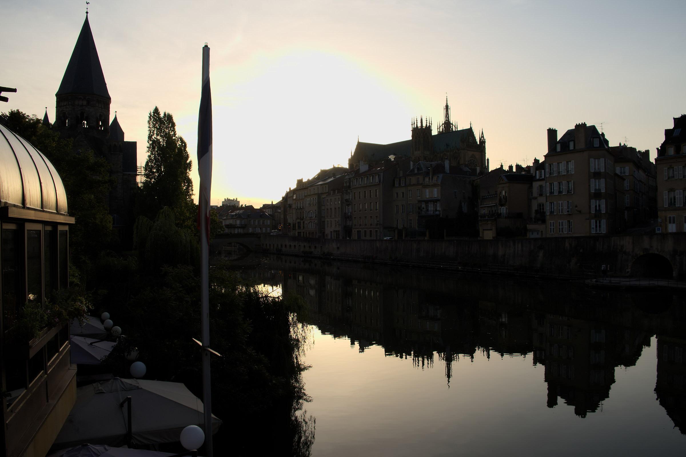 Un mattino a Metz...