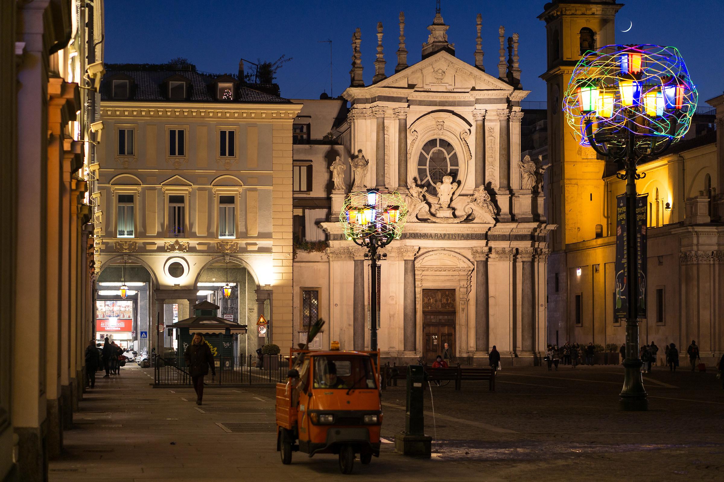 Piazza San Carlo in Turin...