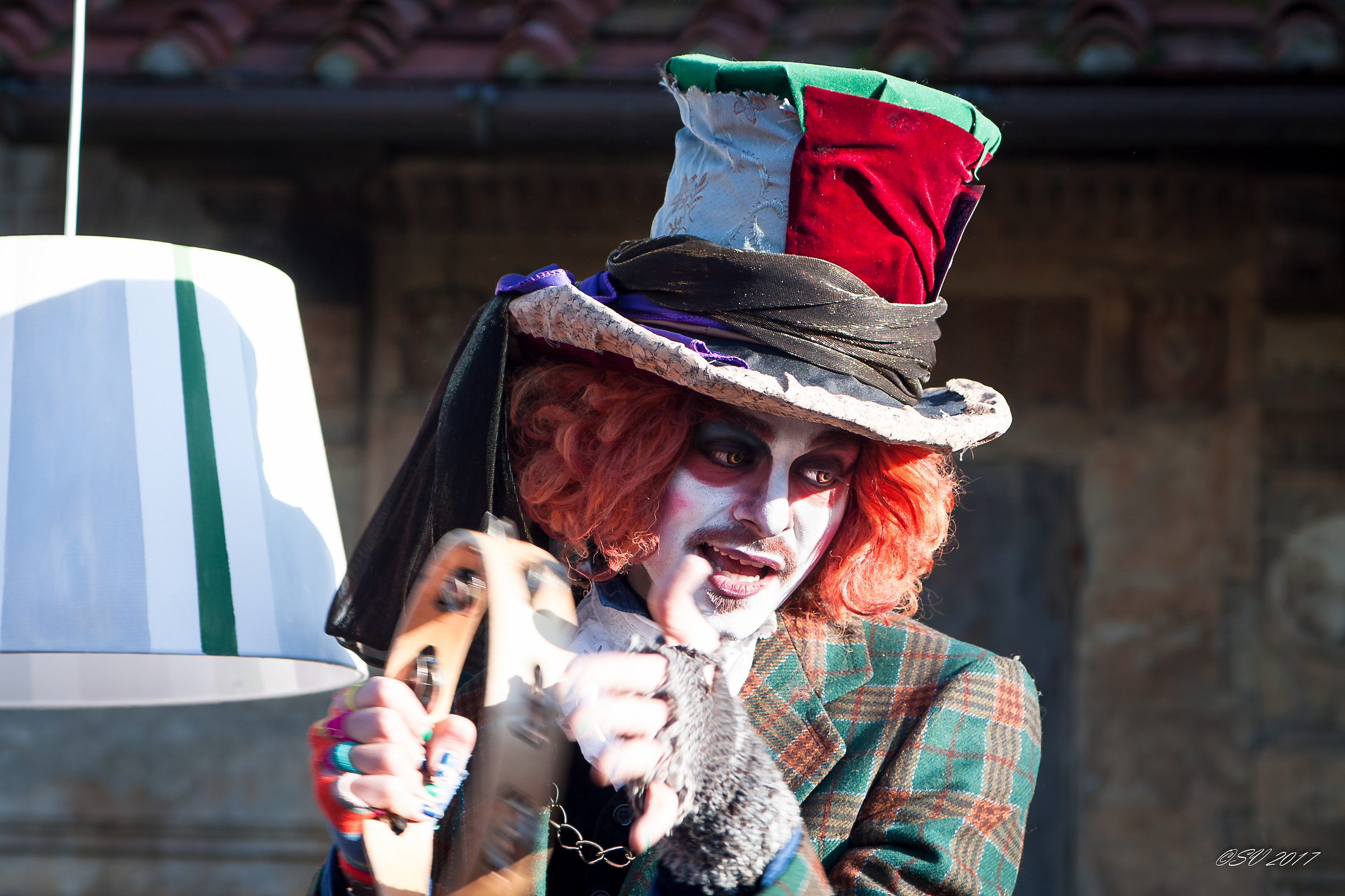 The mad Hatter...