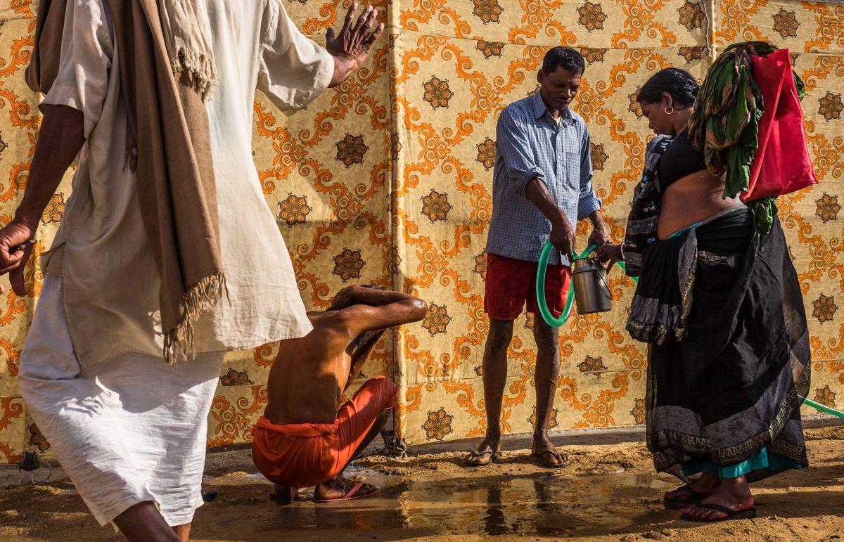 Pilgrimage in India...