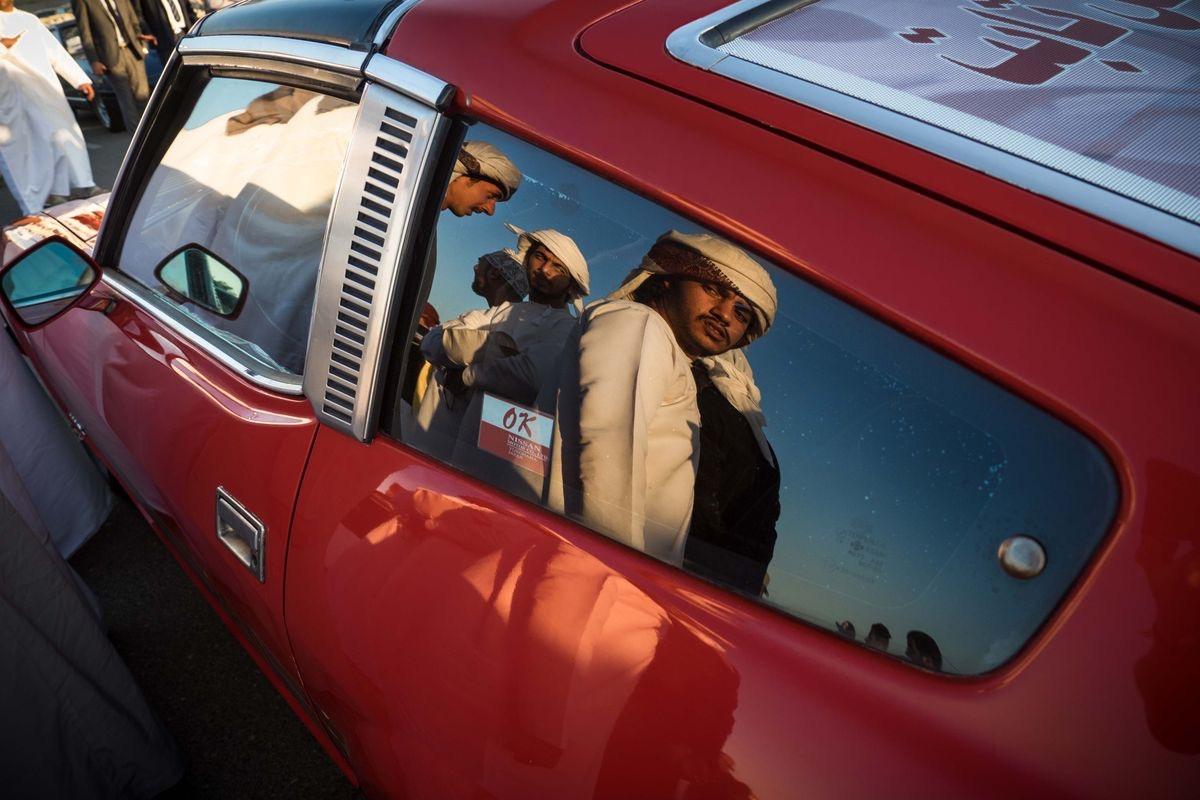Vintage Car show, Muscat Oman...
