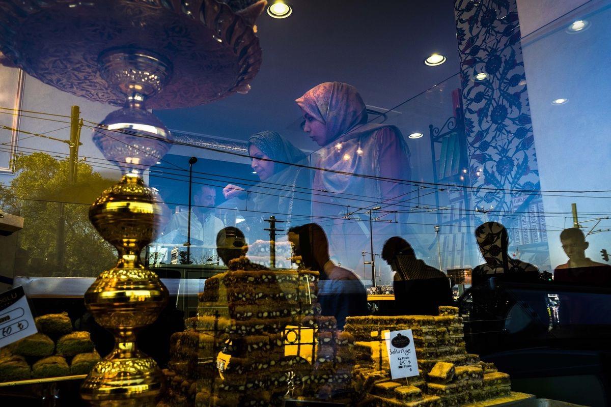 Sweet shop, Istanbul Turkey...