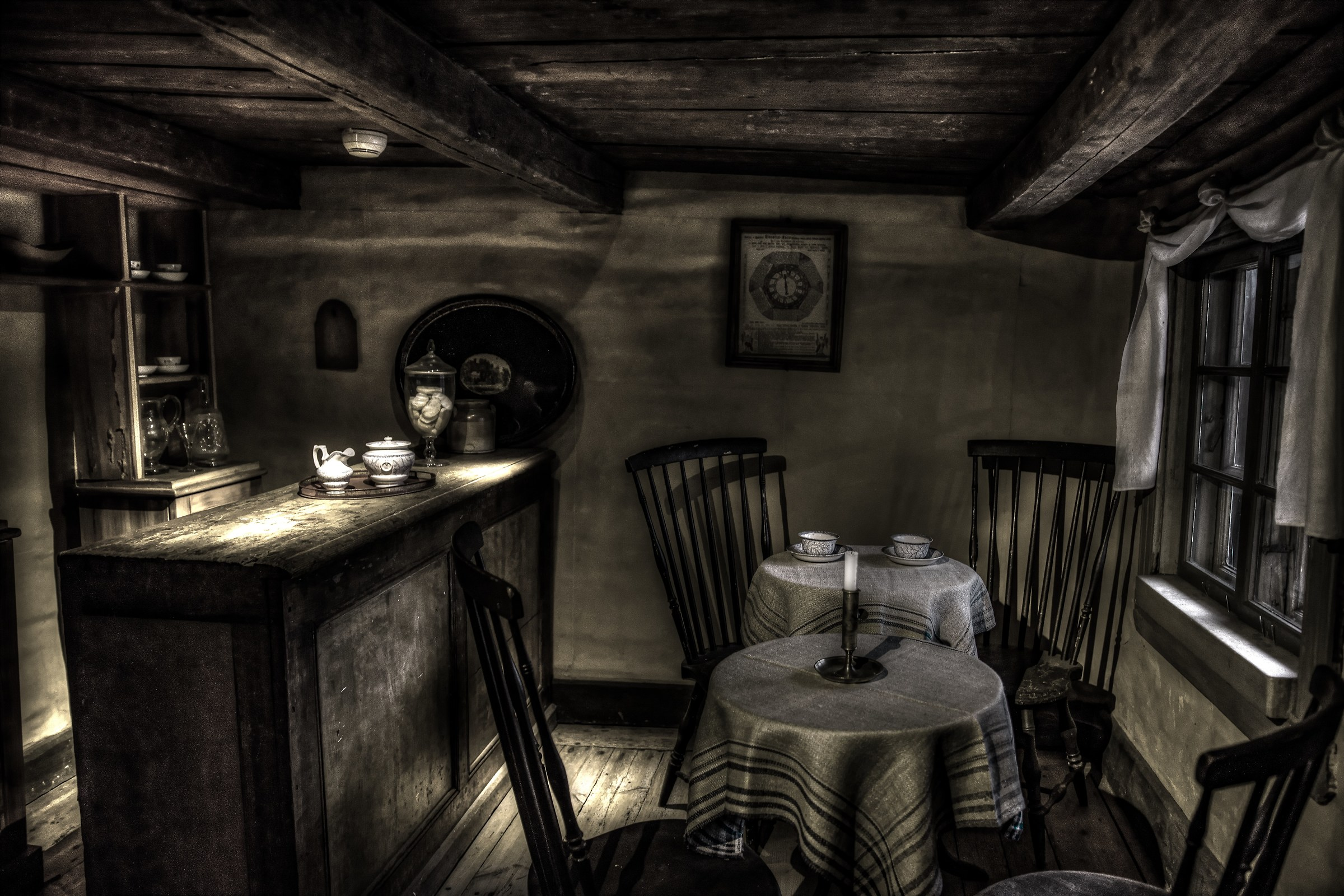 Old coffee shop...