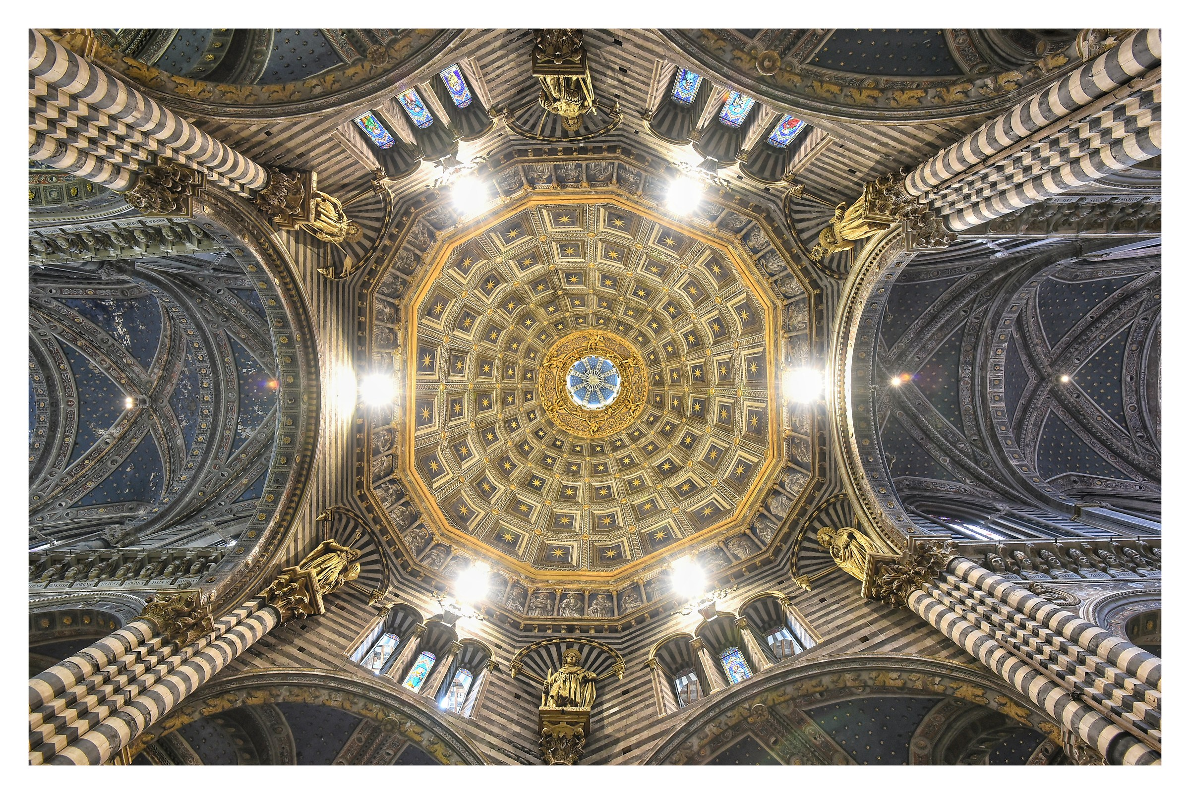 Dome of the Cathedral of Santa Maria Asssunta (Siena)...