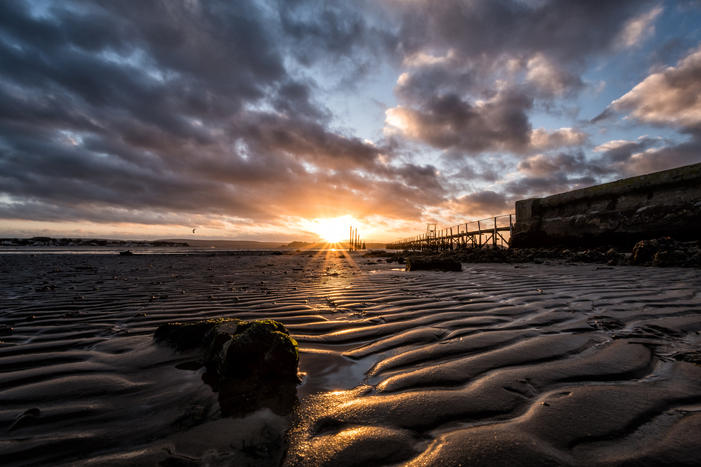 Sunset At Low Tide...