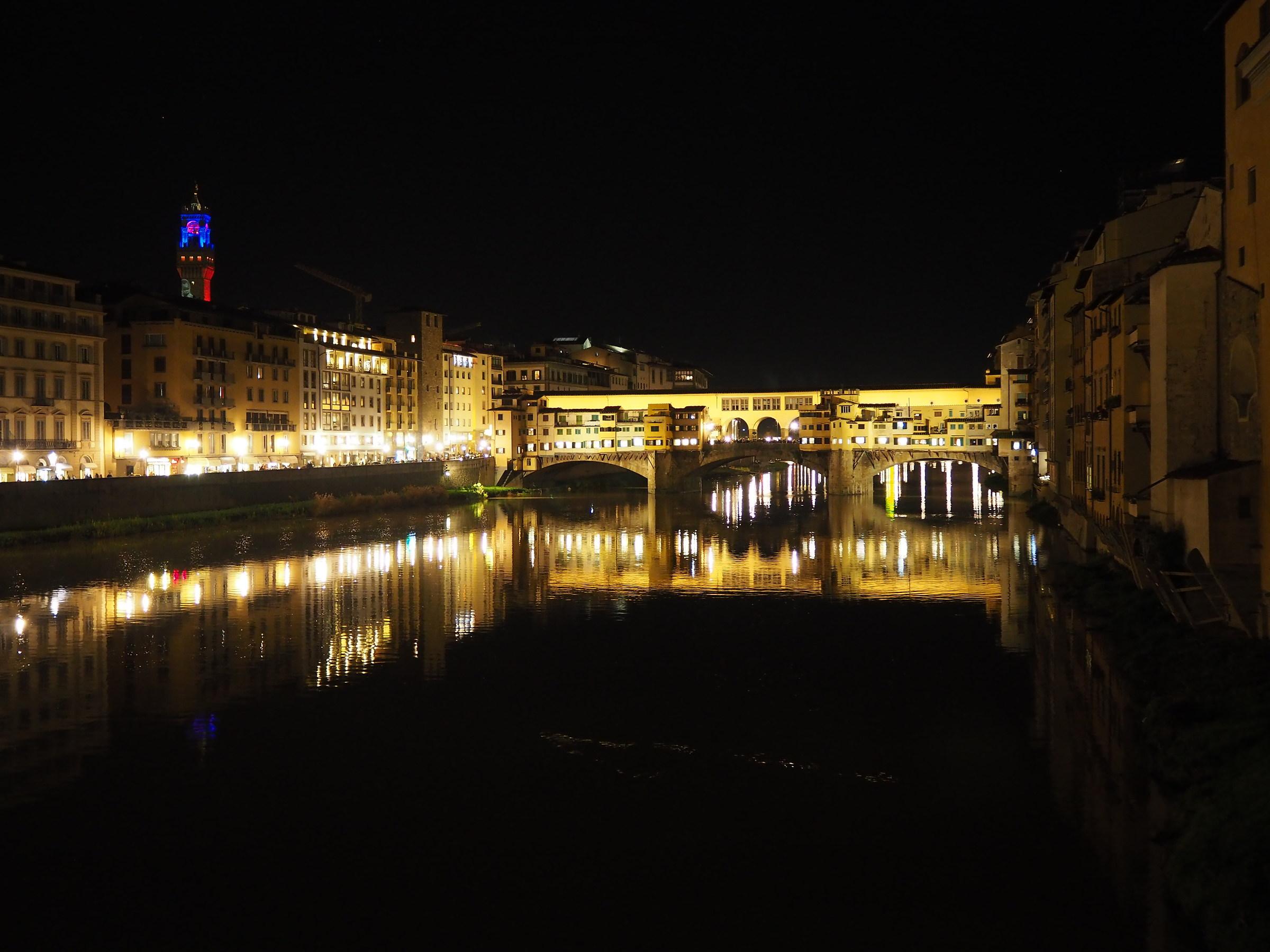 notte nei pressi di ponte vecchio...