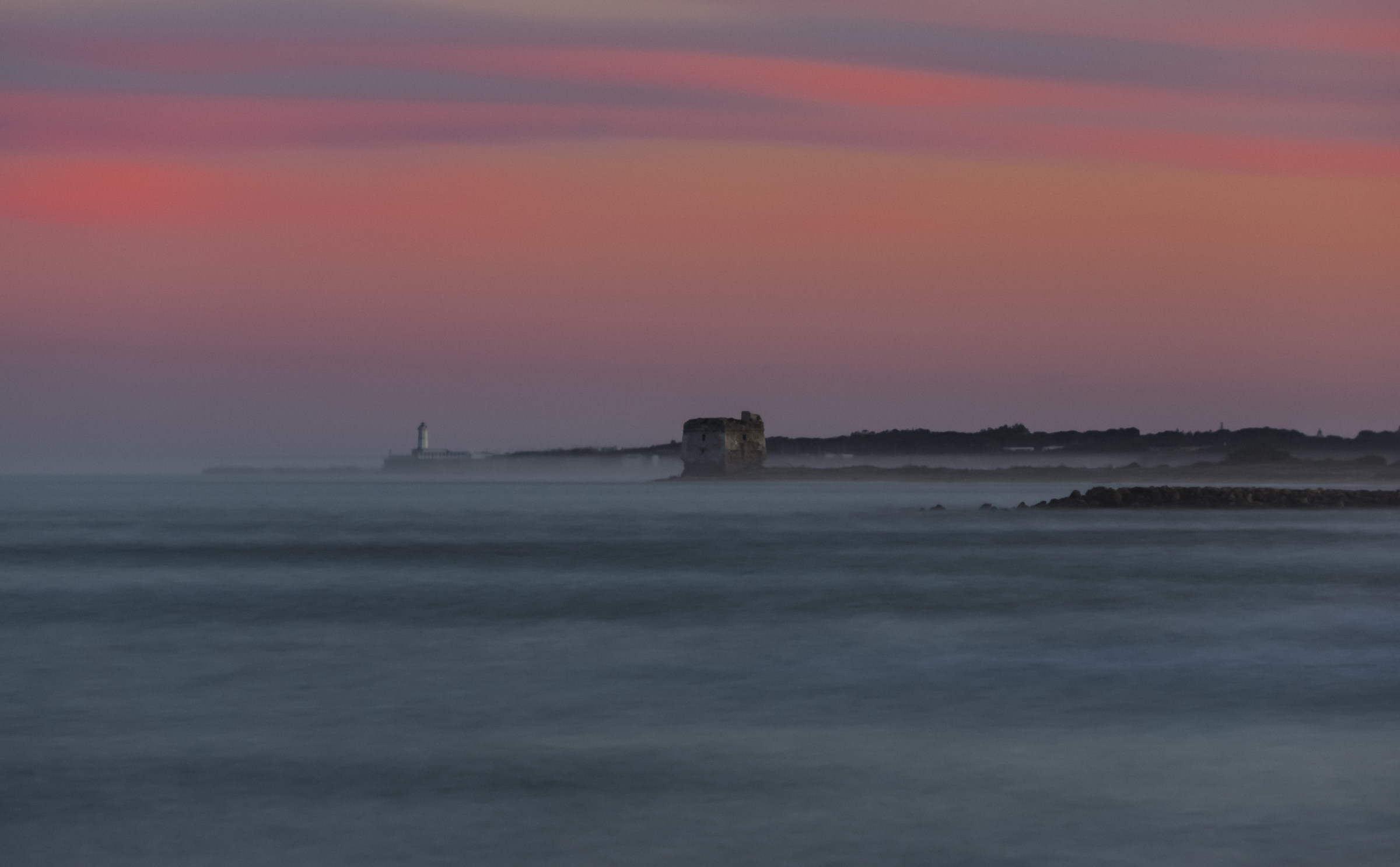 Tower in the Mist...