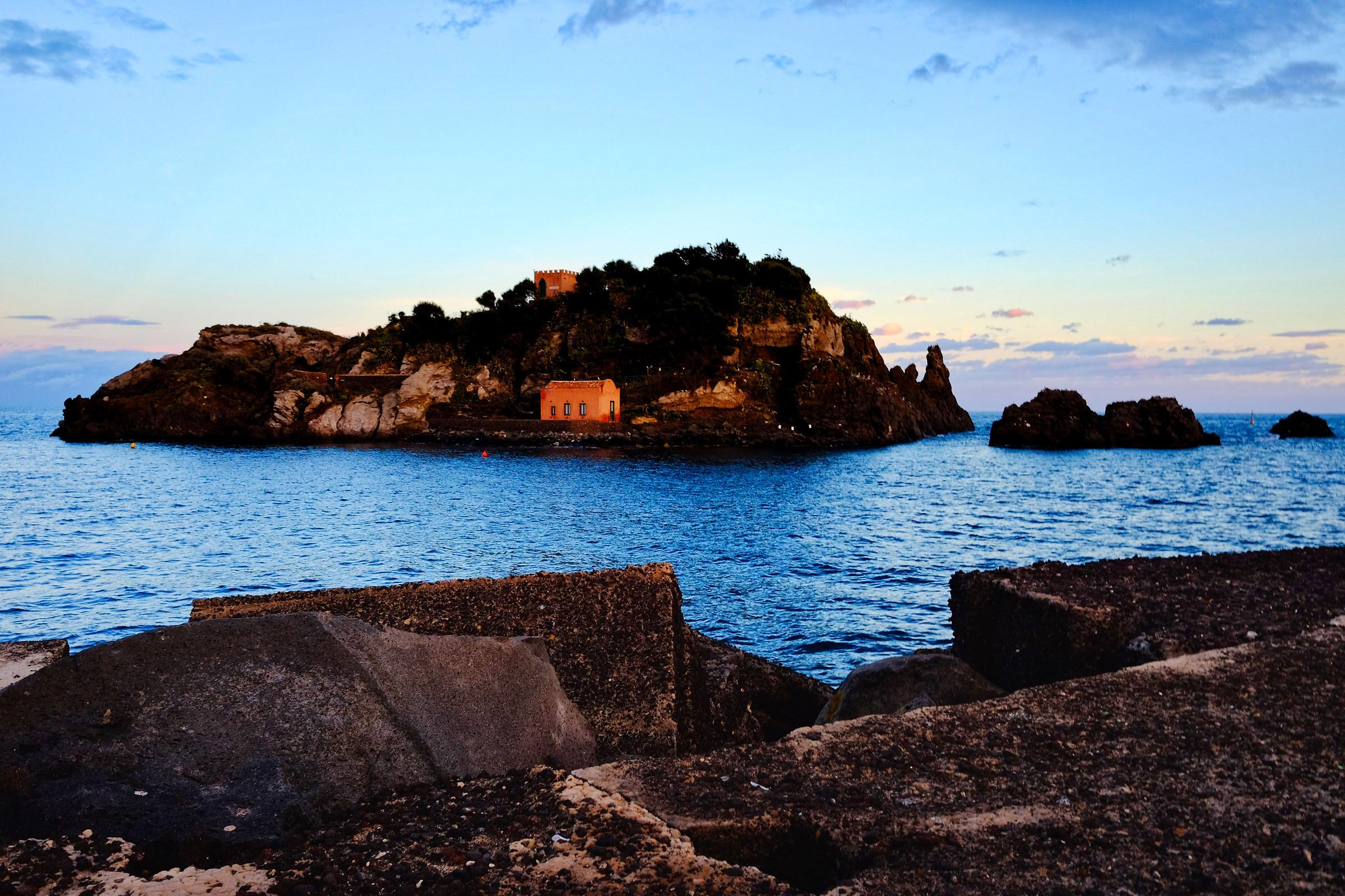 isola Lachea Aci Trezza...