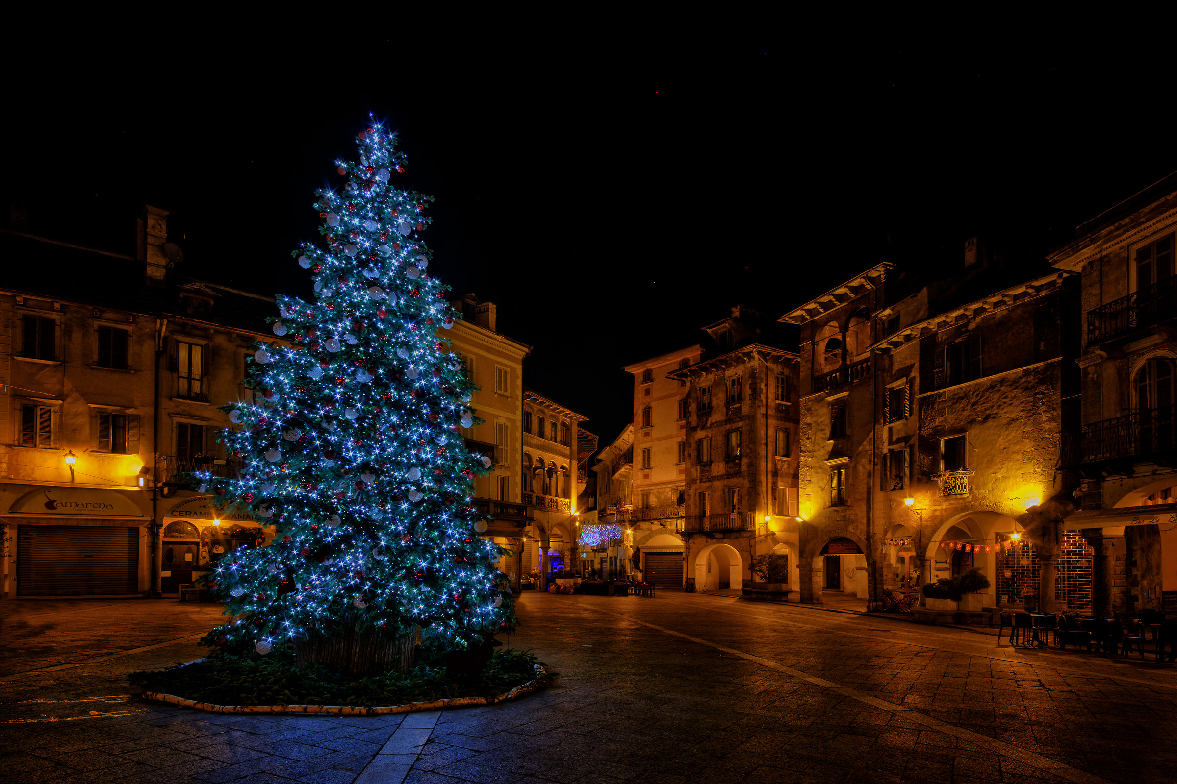 Christmas in Piazza Marcato...