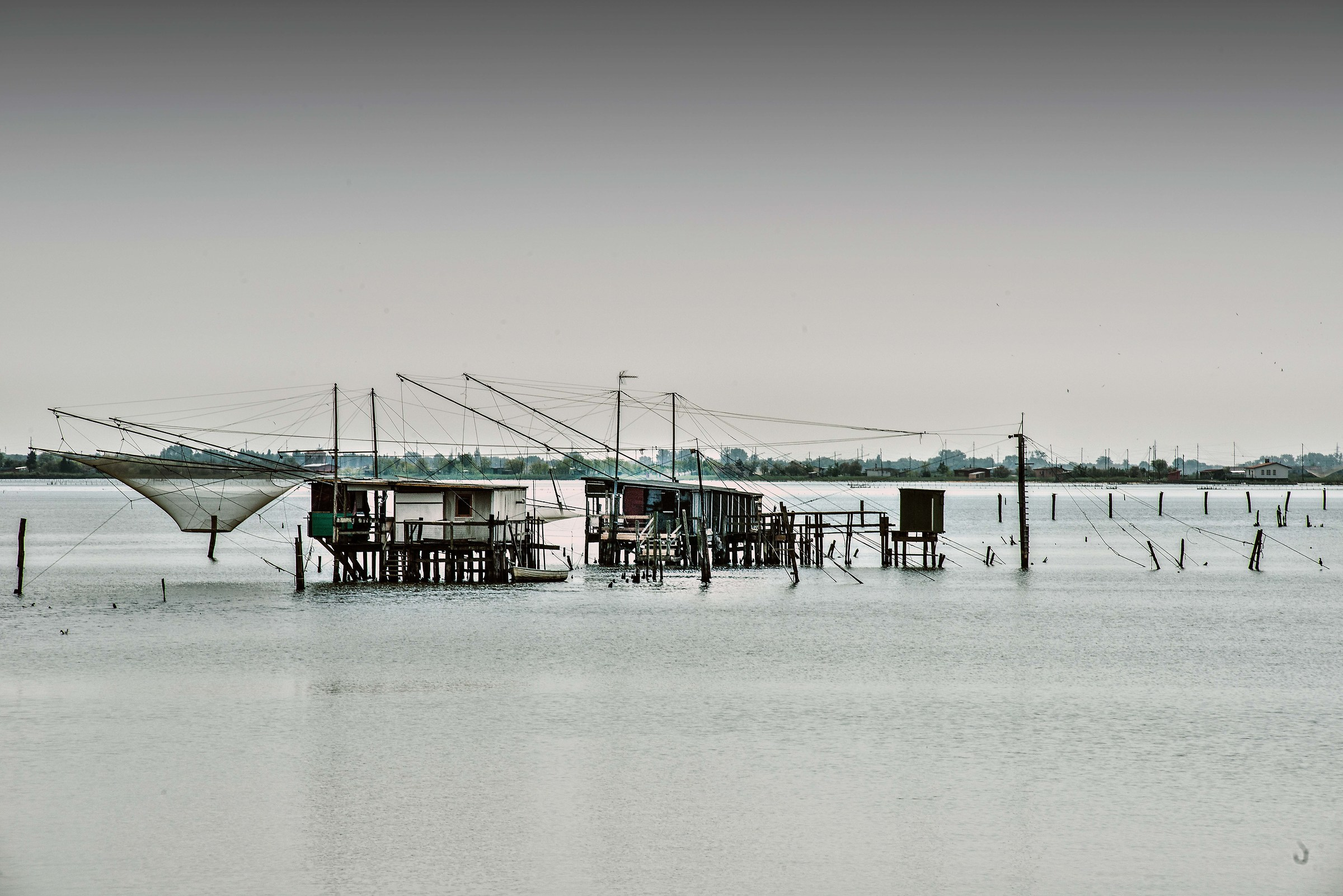 fishermen's houses...