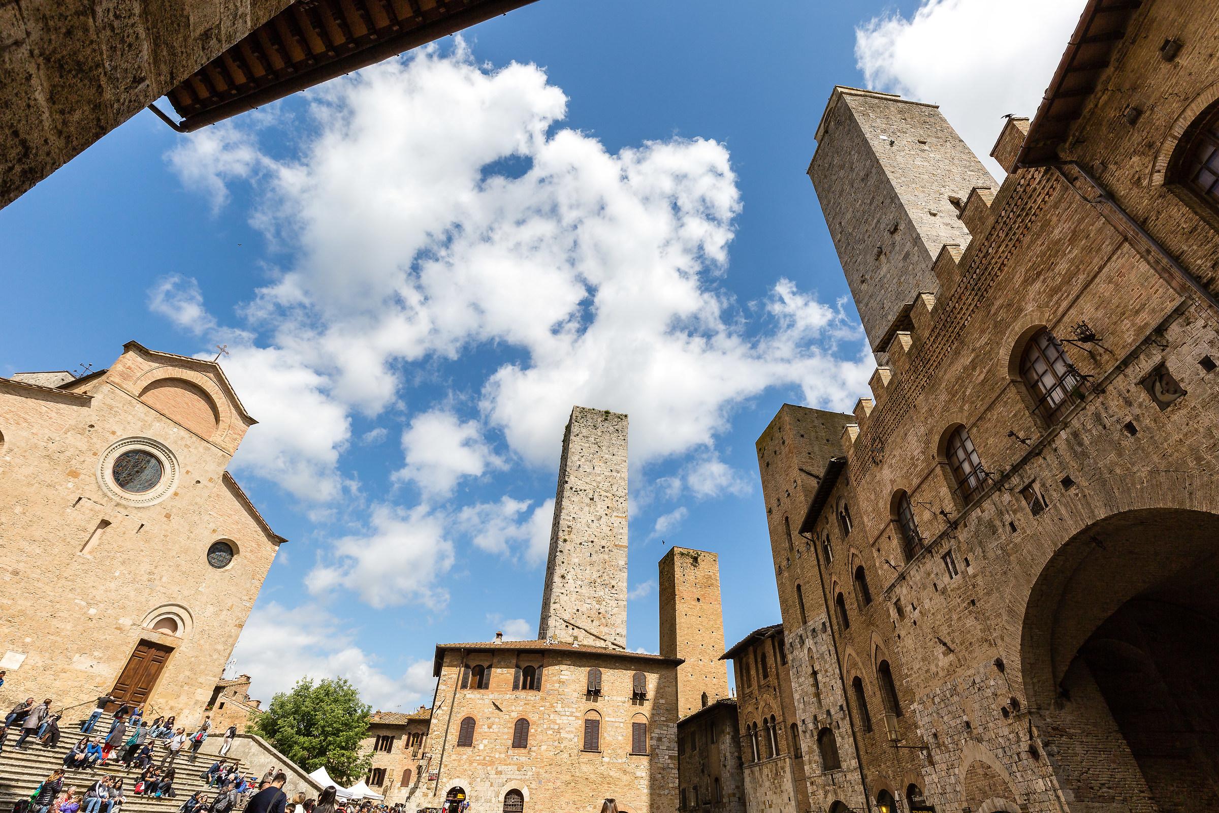 Saint Gimignano...