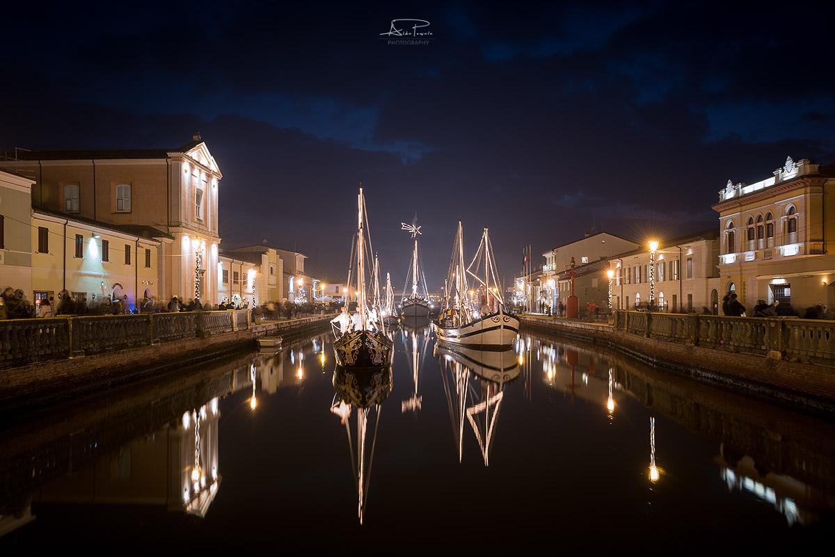 Porto canal Cesenatico...