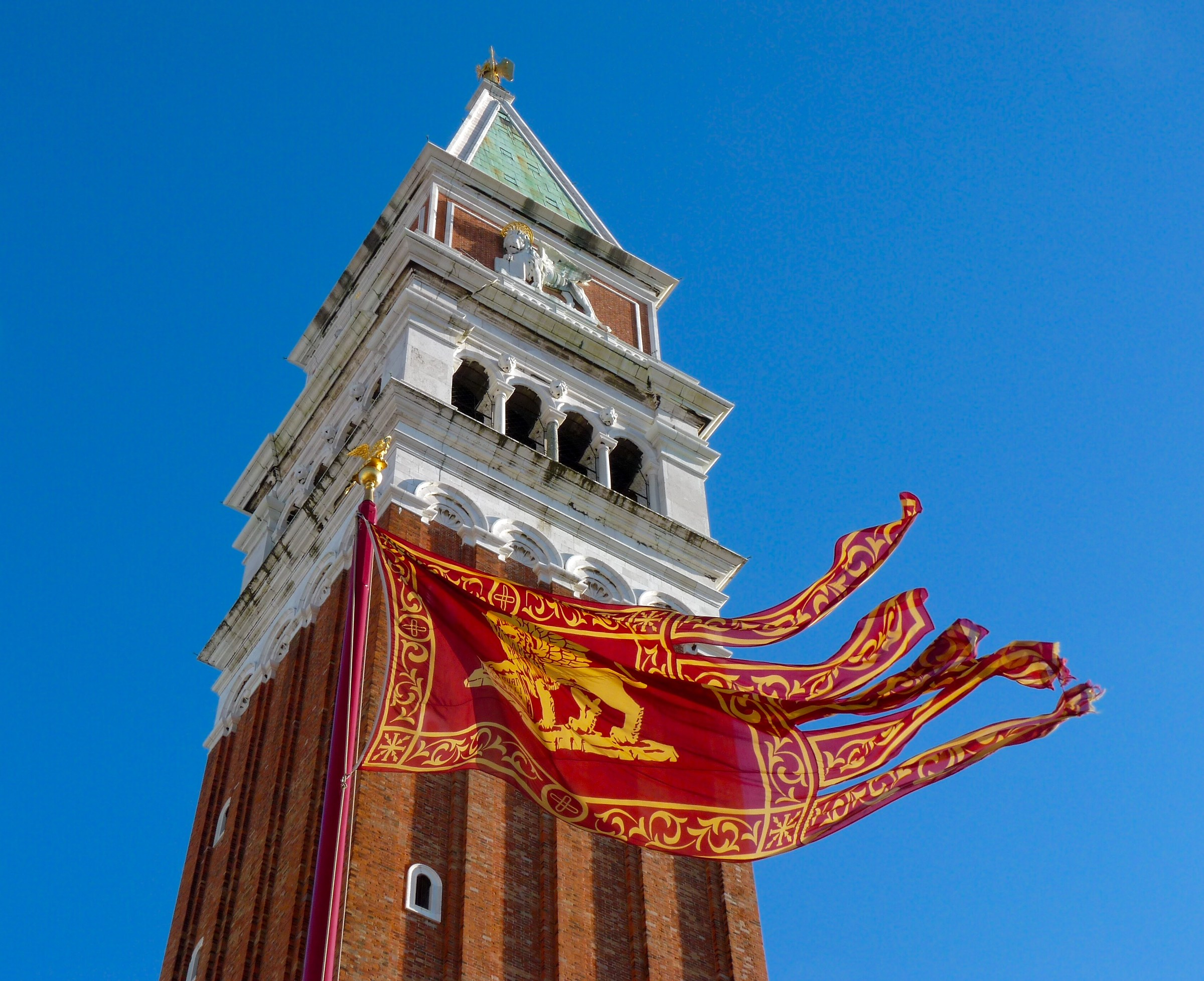 Venice. Bell tower of San Marco....
