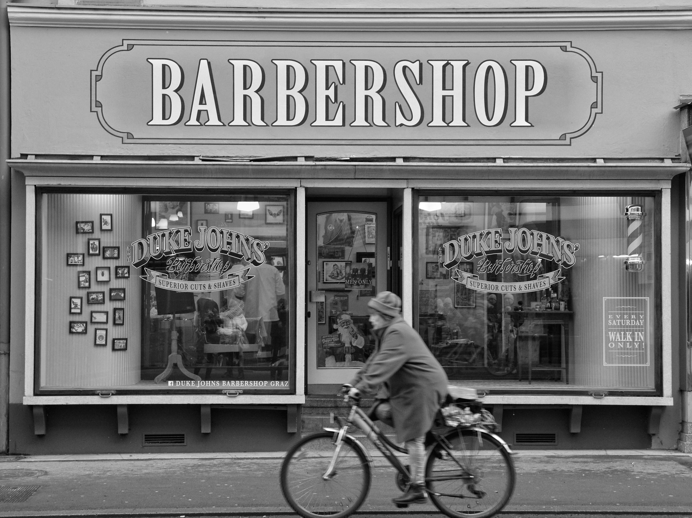 Barbershop in Graz...