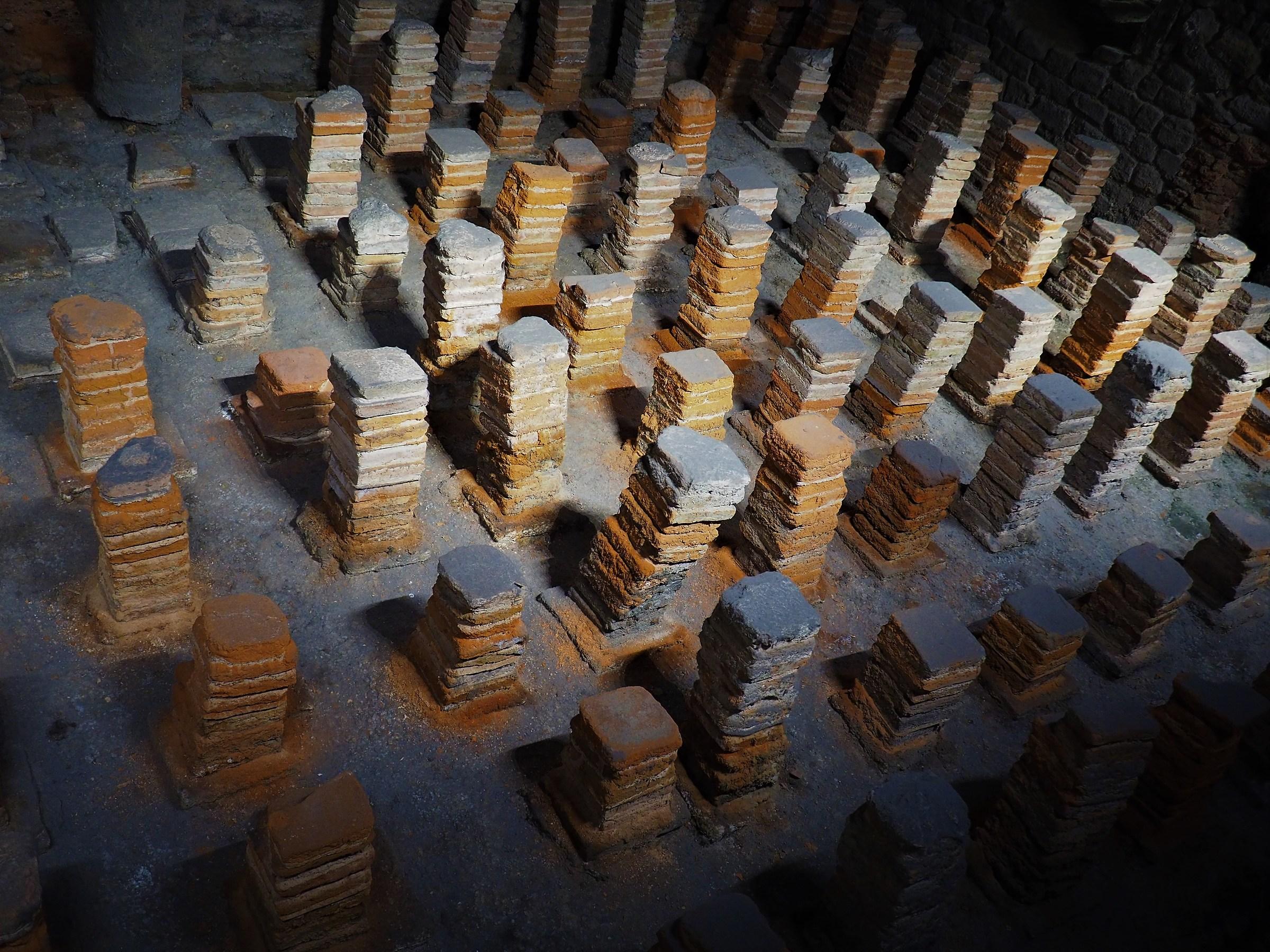 Resti di terme romane a Bath (Inghilterra)...