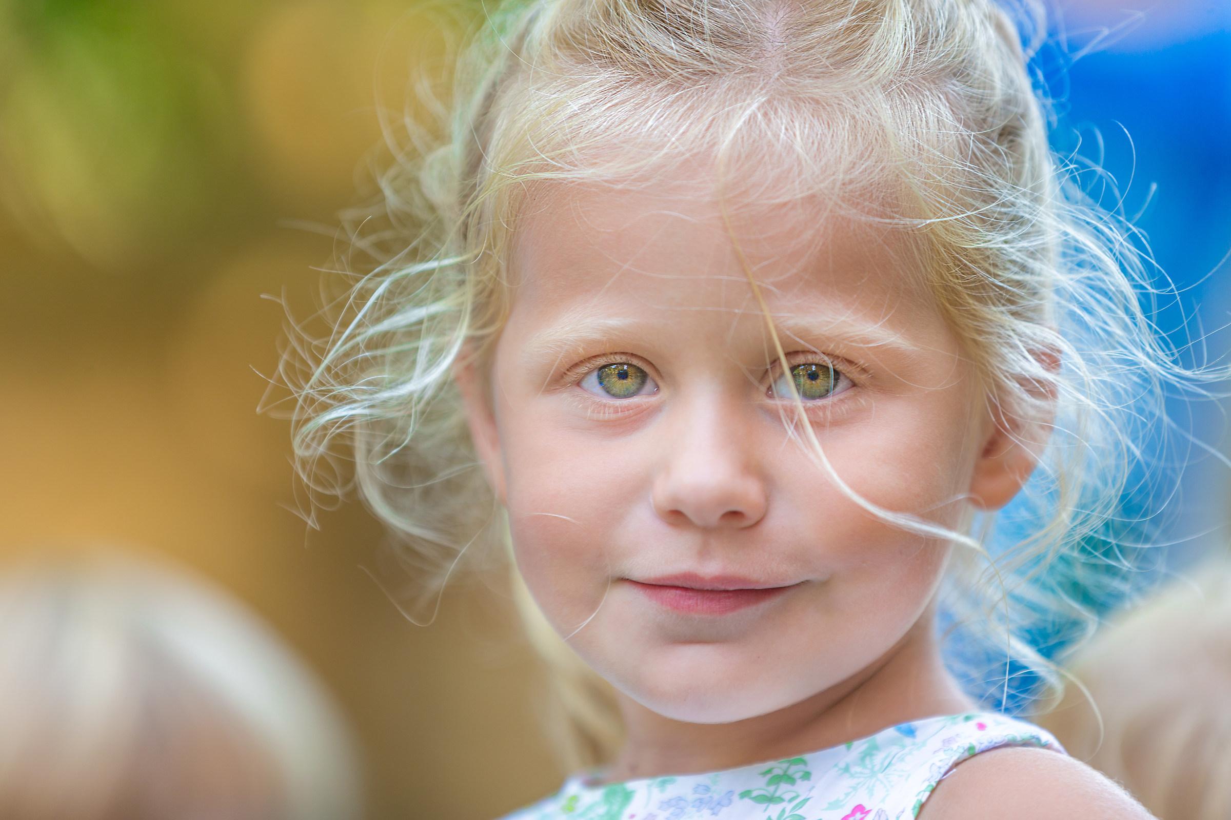 Blue eyes ......