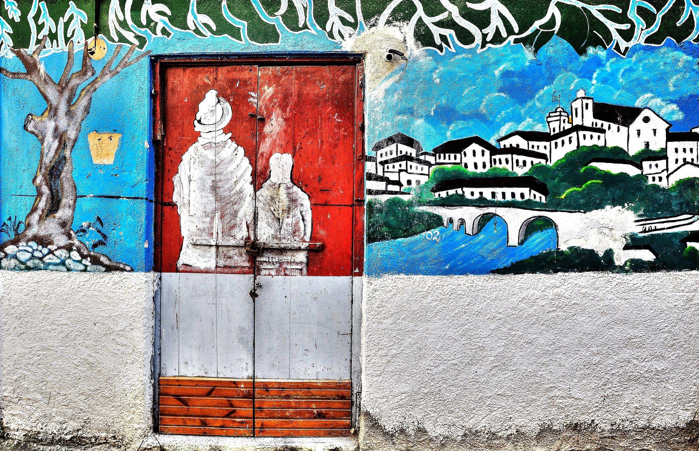 murals calabria...