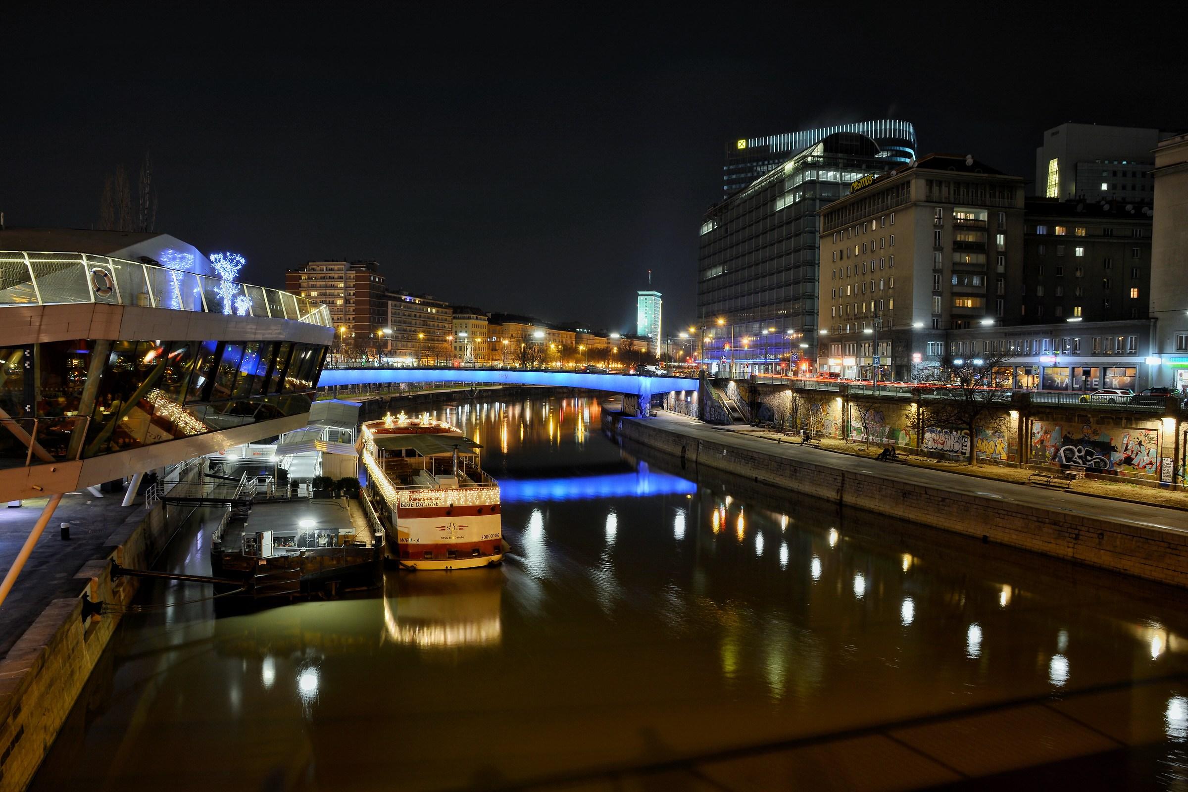 Vienna at night...