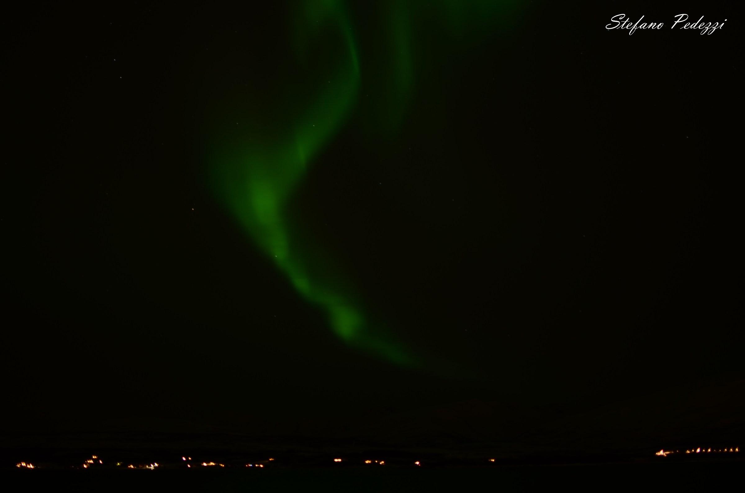 Aurora borealis in Tromso...