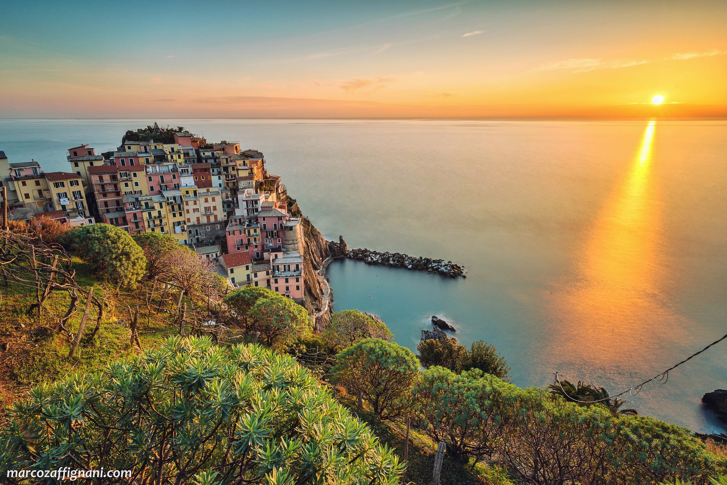 Manarola, before sunset...
