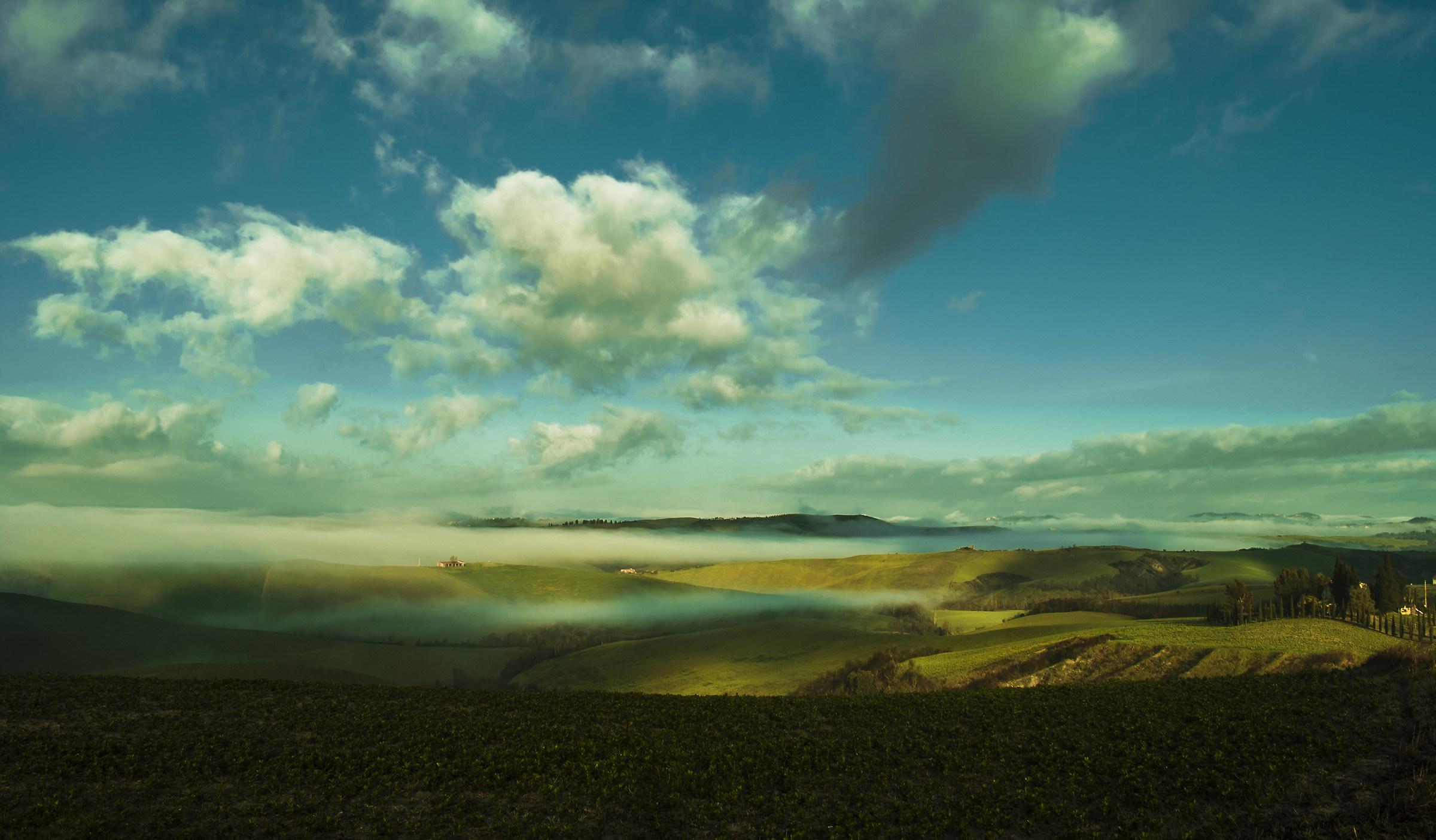 Where Earth and Heaven meet...