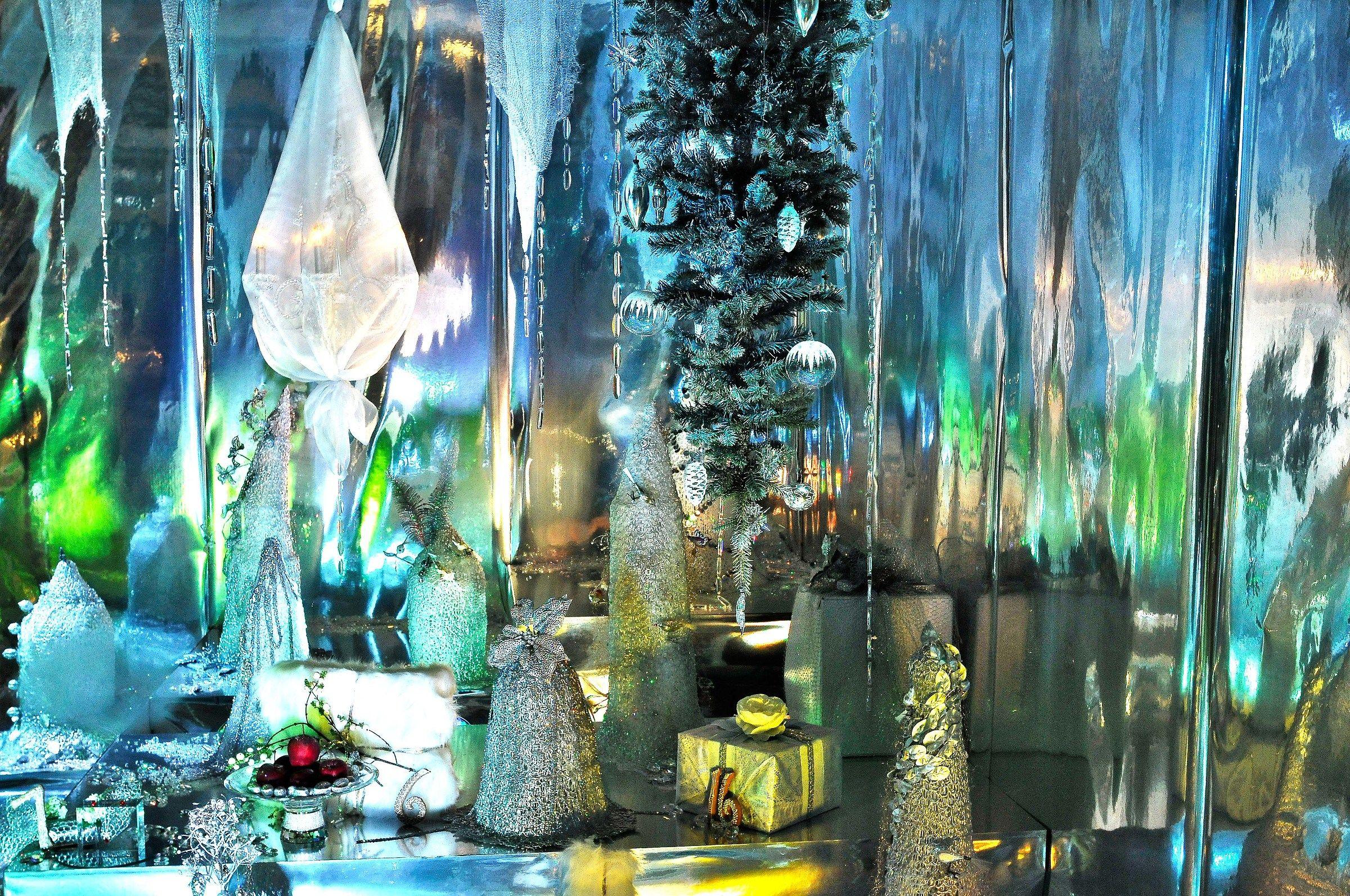 Christmas window...