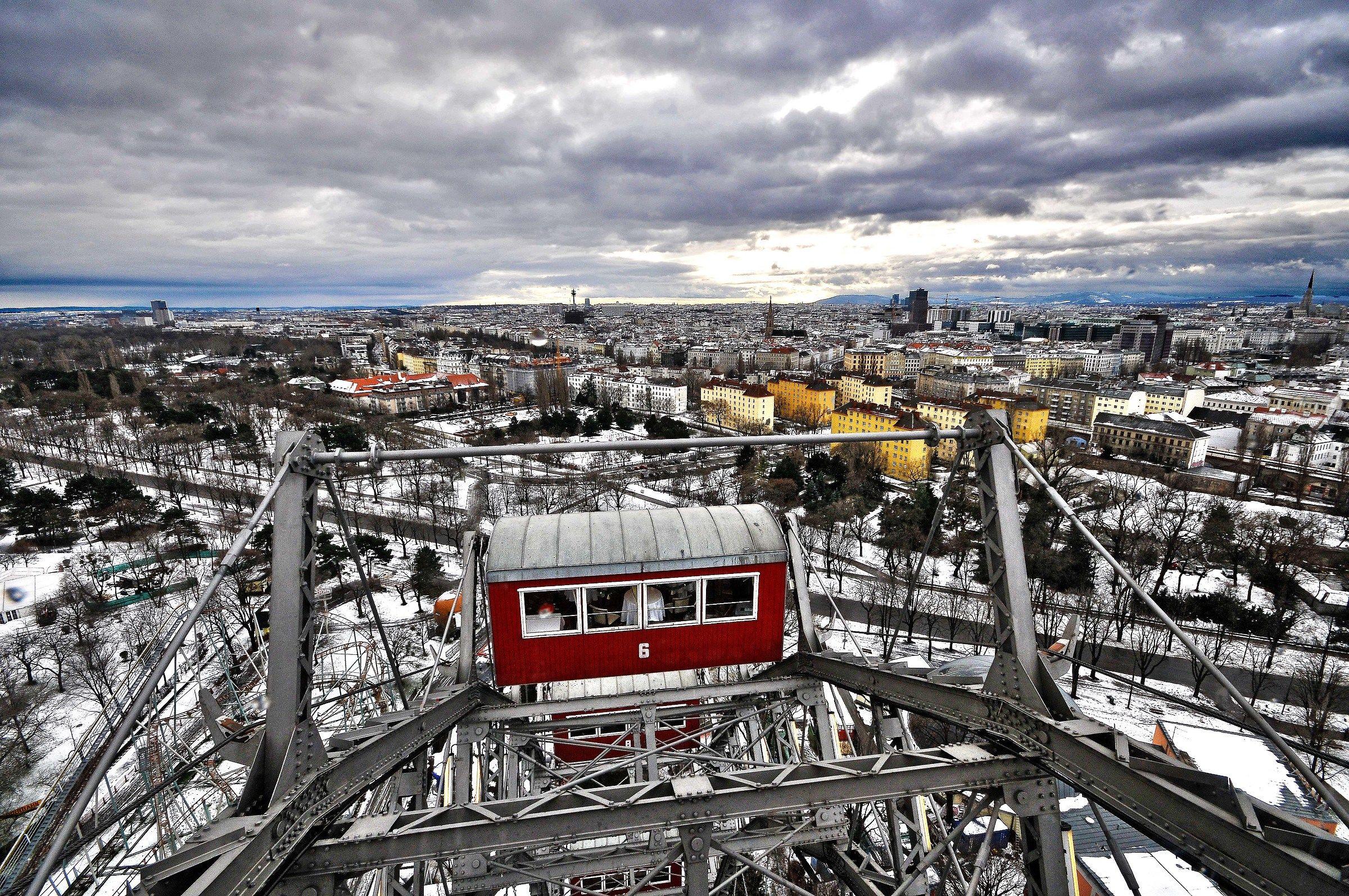 the Ferris wheel...