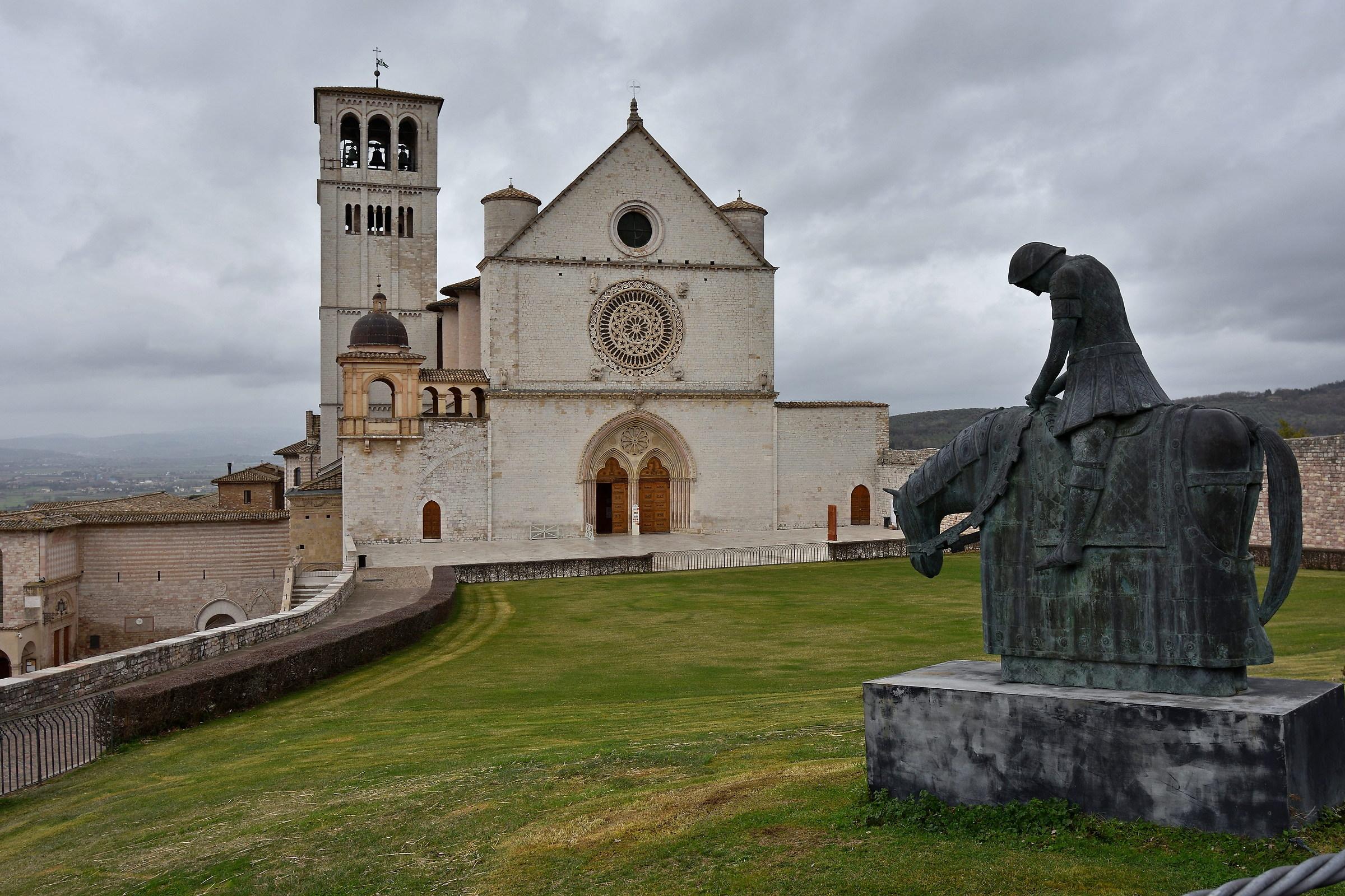Il pellegrino di Assisi...