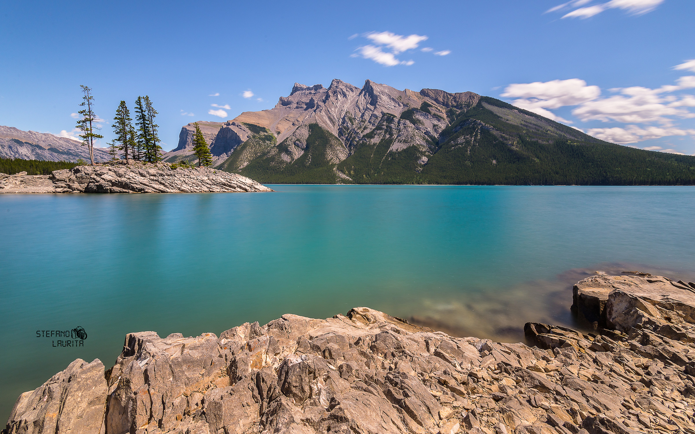 Minnewanka Lake, Banff National Park...