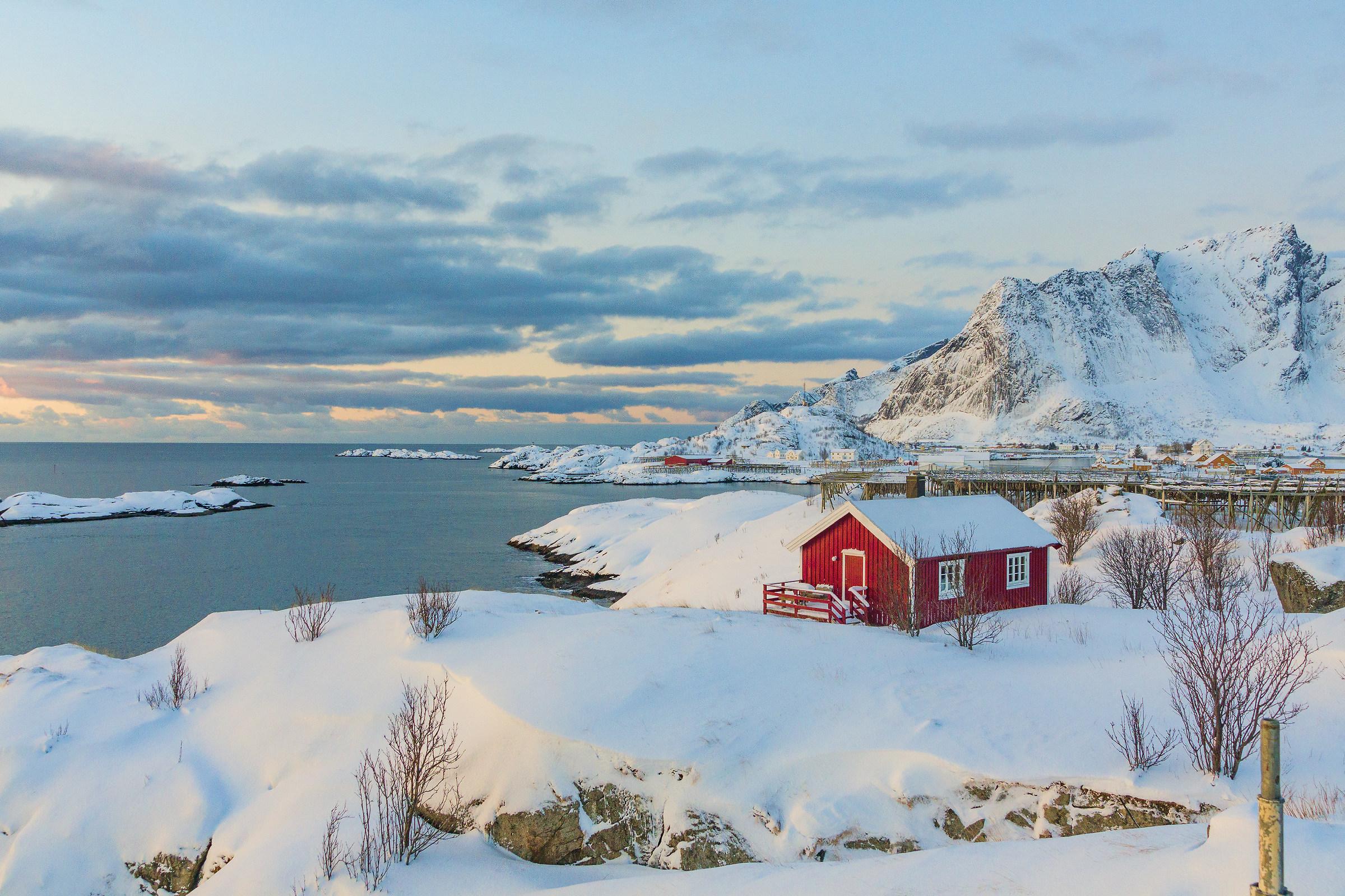 Hamnoy Isole Lofoten Norvegia...